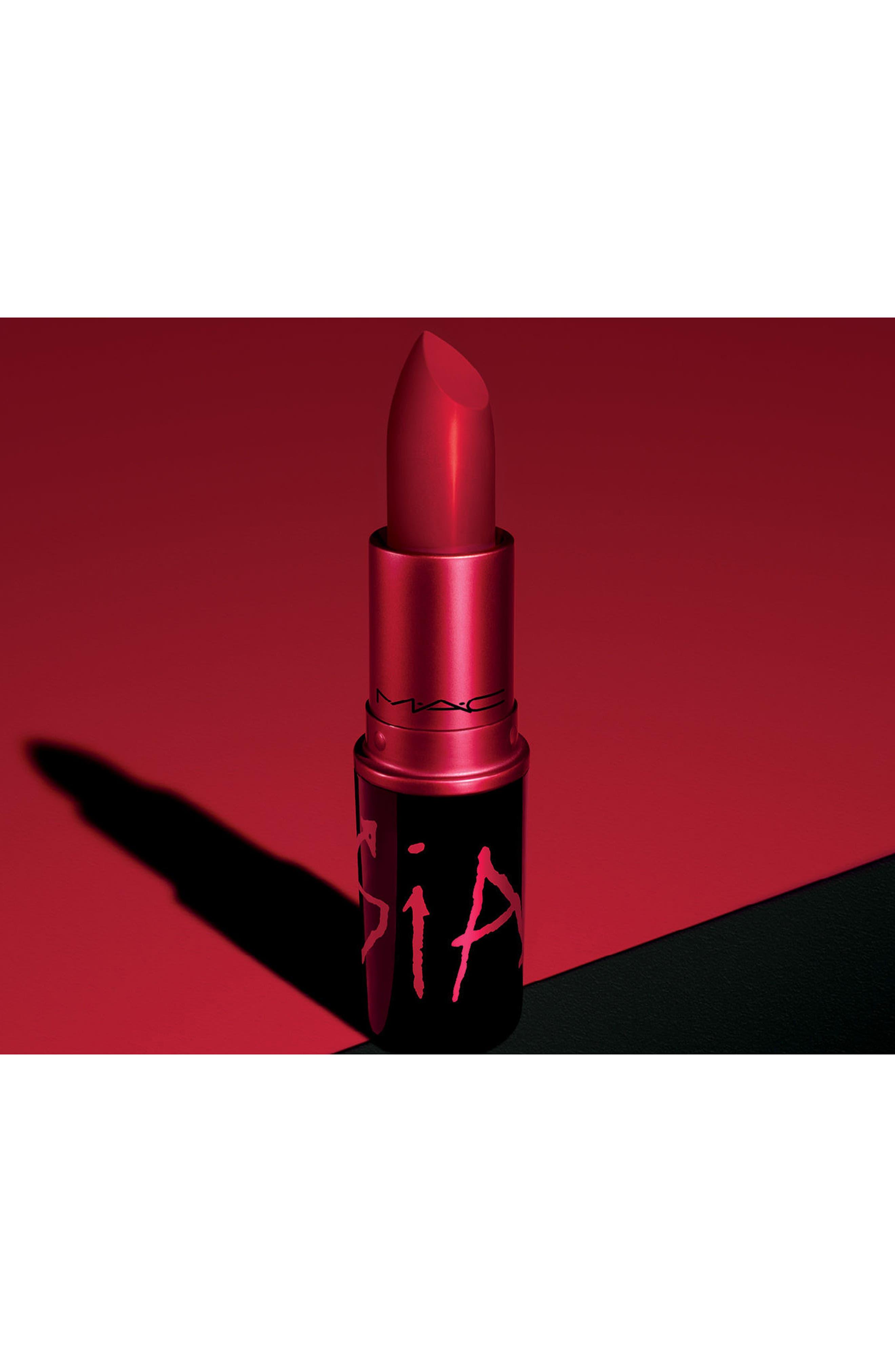 MAC Viva Glam Sia Lipstick,                             Alternate thumbnail 5, color,                             VIVA GLAM SIA