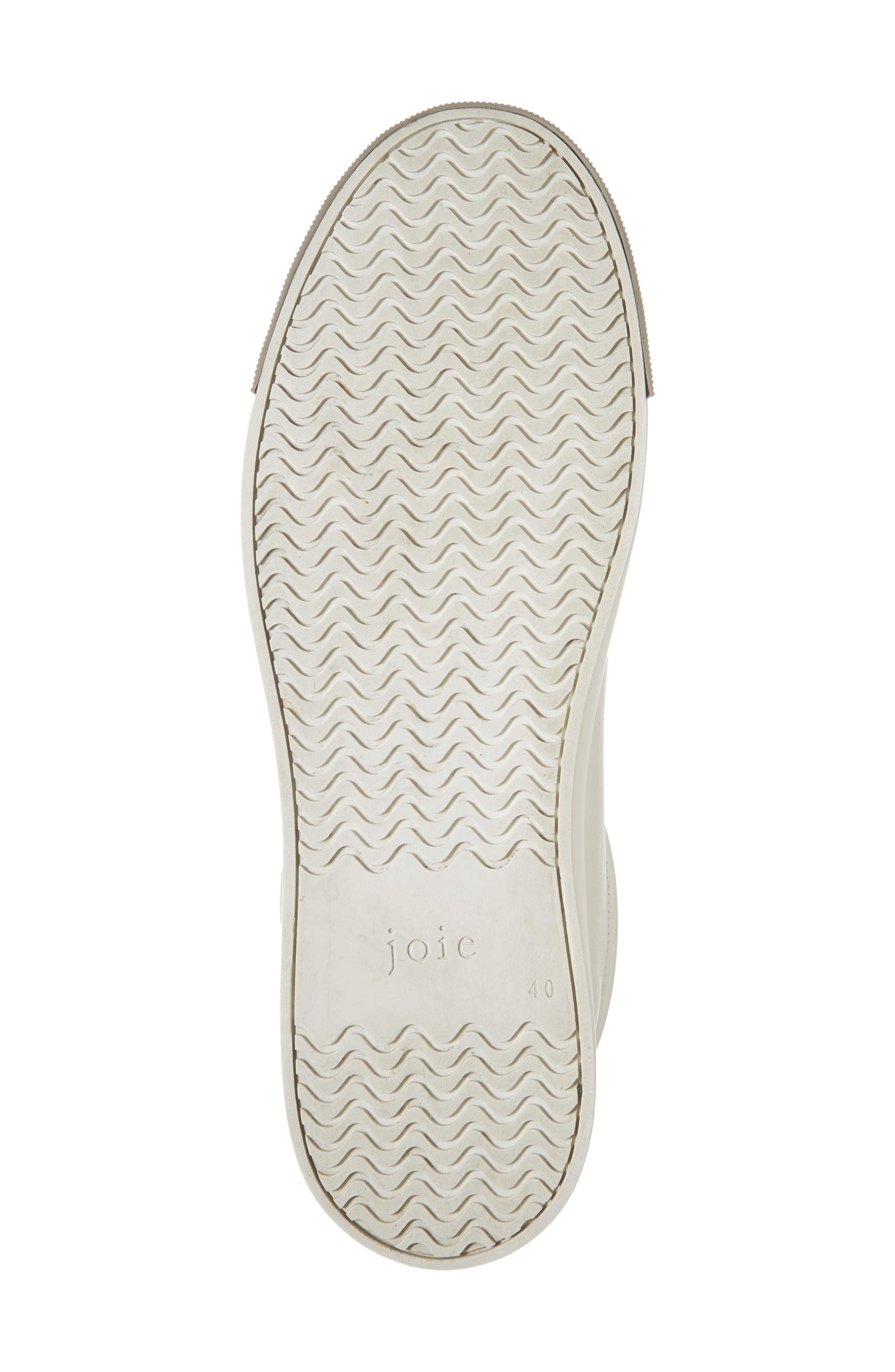 Handan Lace-Up Sneaker,                             Alternate thumbnail 6, color,                             WHITE