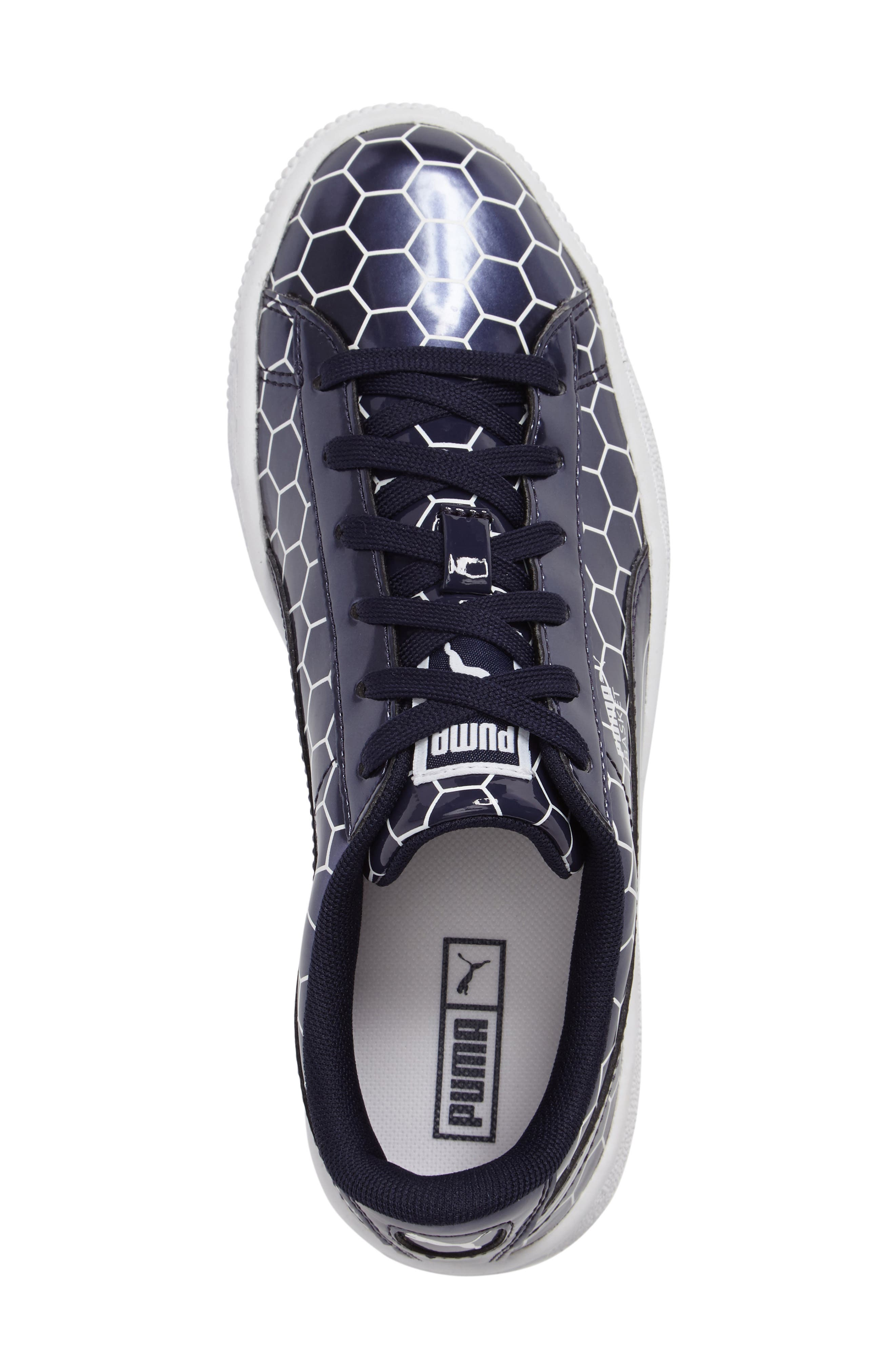 Basket Classic Ano Sneaker,                             Alternate thumbnail 3, color,                             400