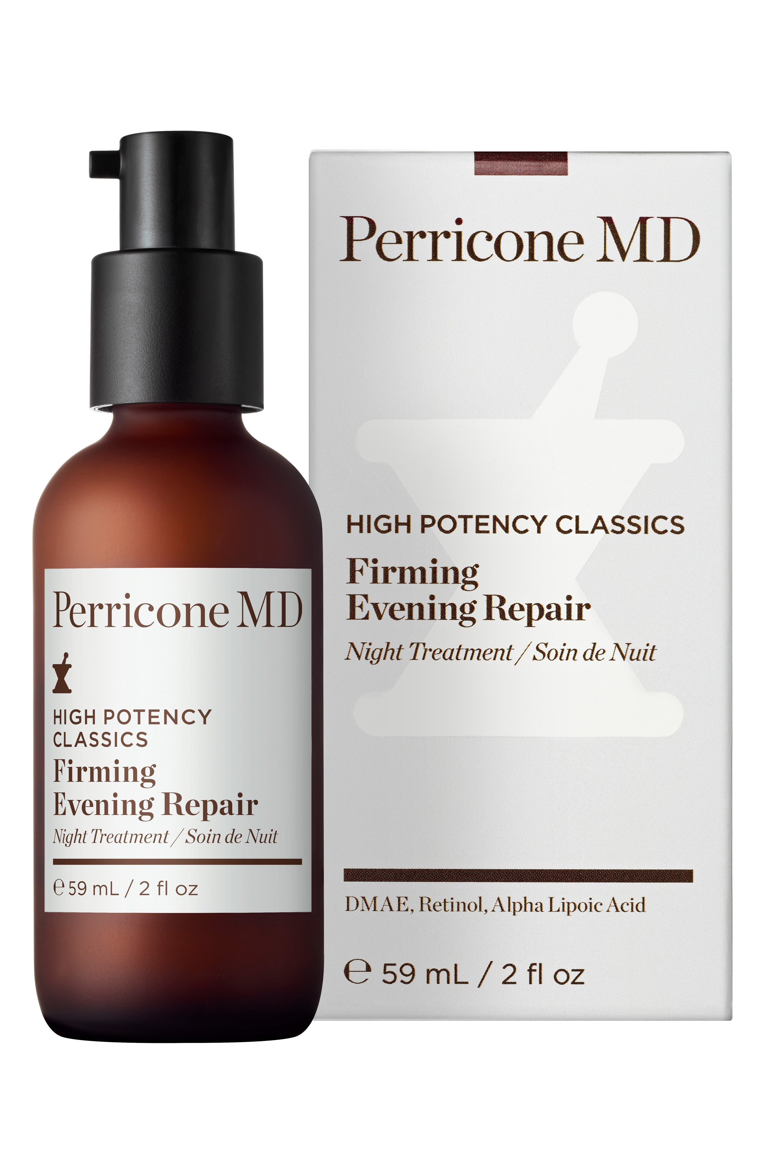 High Potency Classic Firming Evening Repair Serum,                             Alternate thumbnail 3, color,                             000