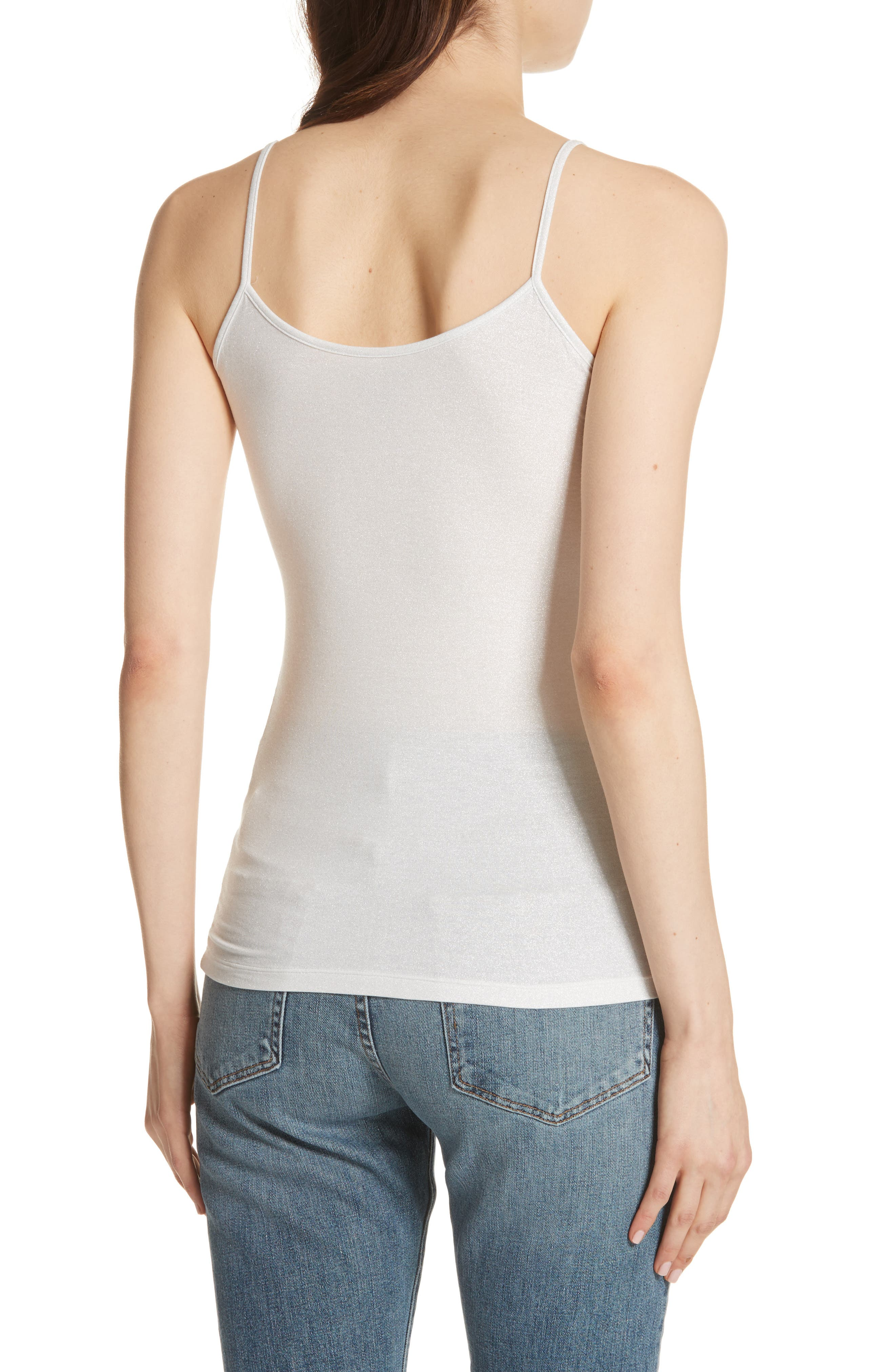 Extra Fine Metallic Camisole,                             Alternate thumbnail 2, color,                             043