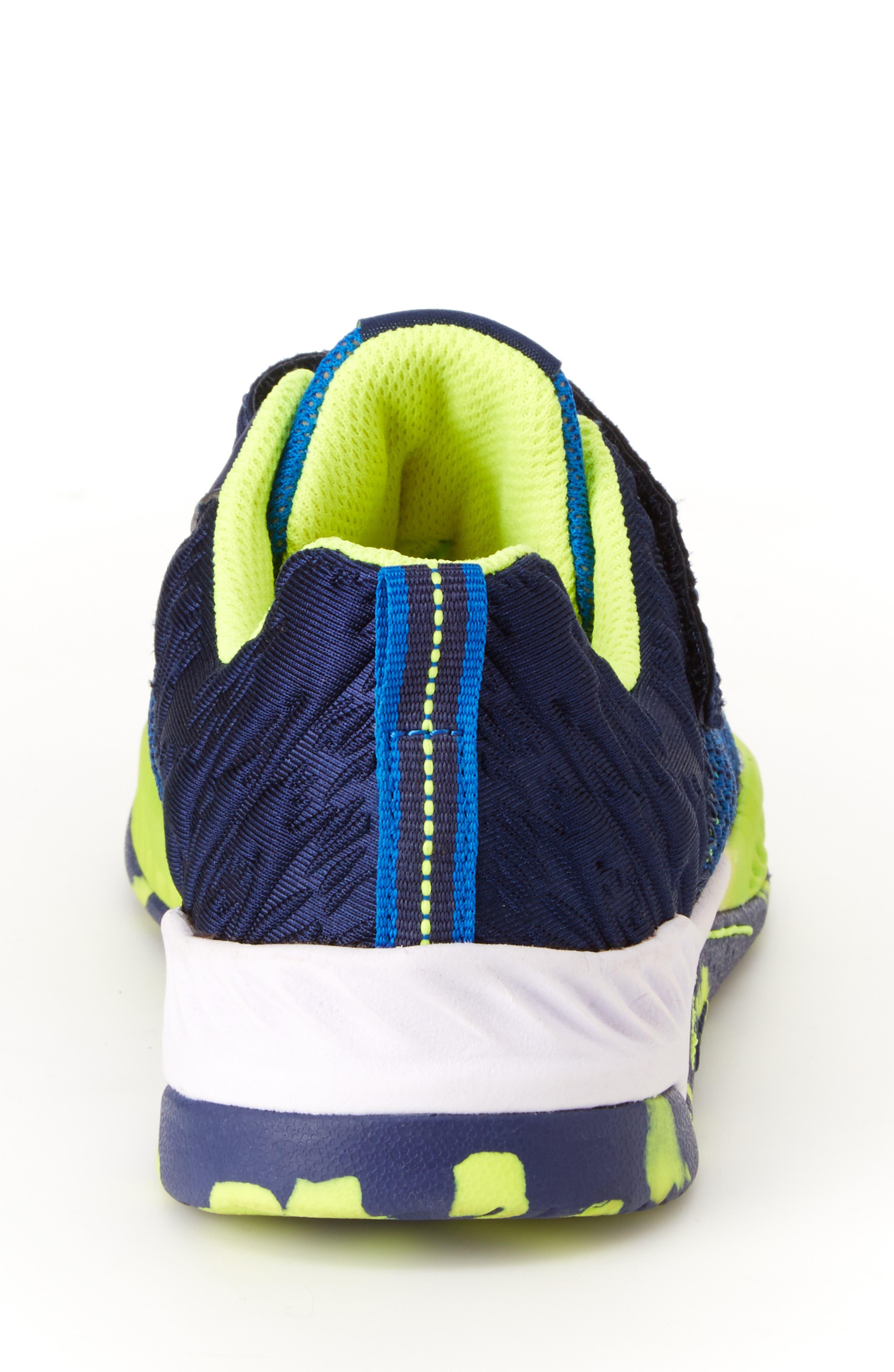 Talon Knit Sneaker,                             Alternate thumbnail 6, color,                             NAVY TEXTILE