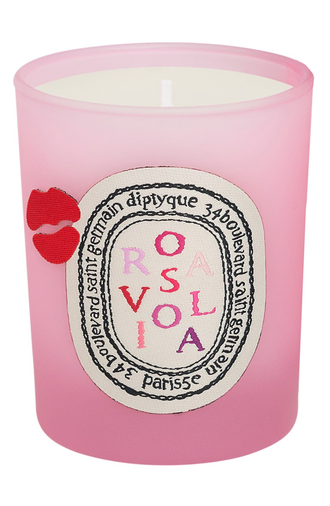 'Rosaviola' Scented Candle,                             Alternate thumbnail 2, color,                             000