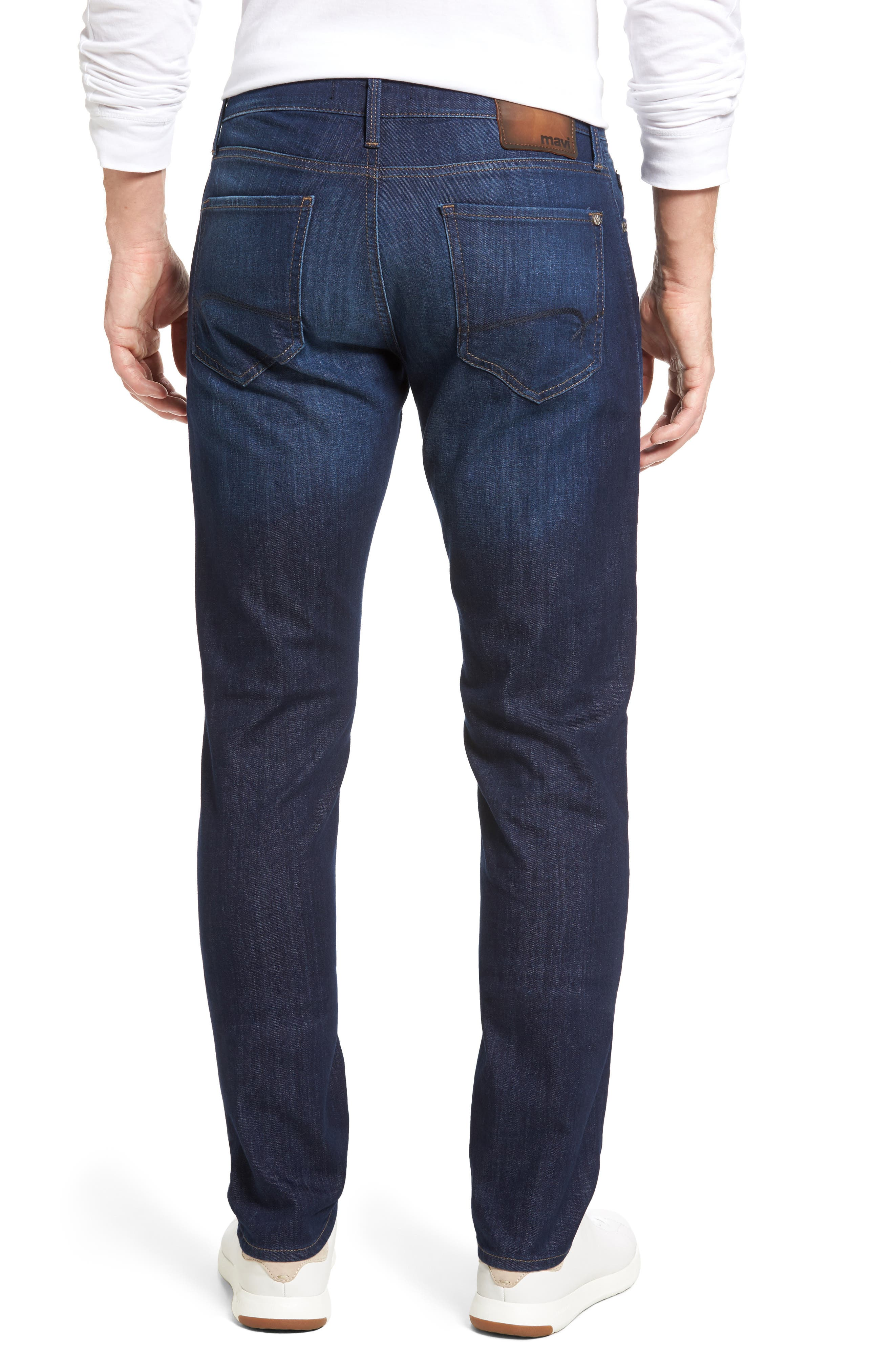 Marcus Slim Straight Leg Jeans,                             Alternate thumbnail 2, color,                             INDIGO PORTLAND