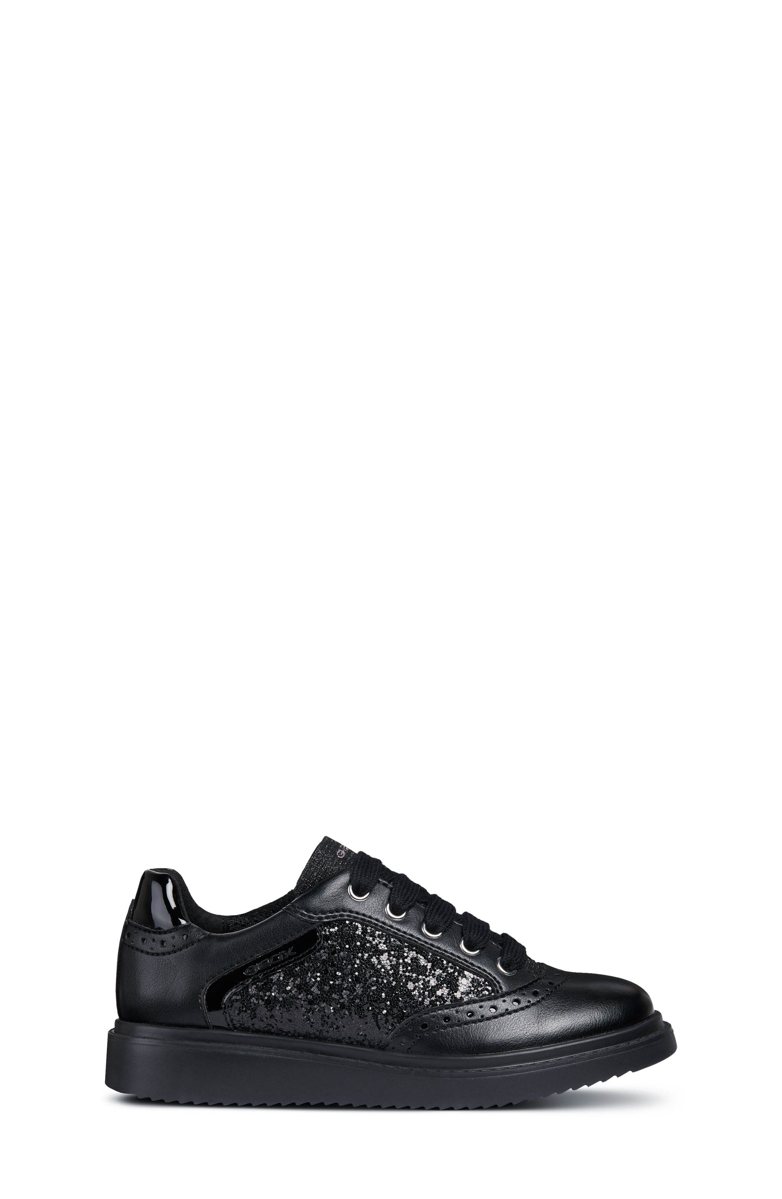 Thymar Sequin Sneaker,                             Alternate thumbnail 3, color,                             BLACK
