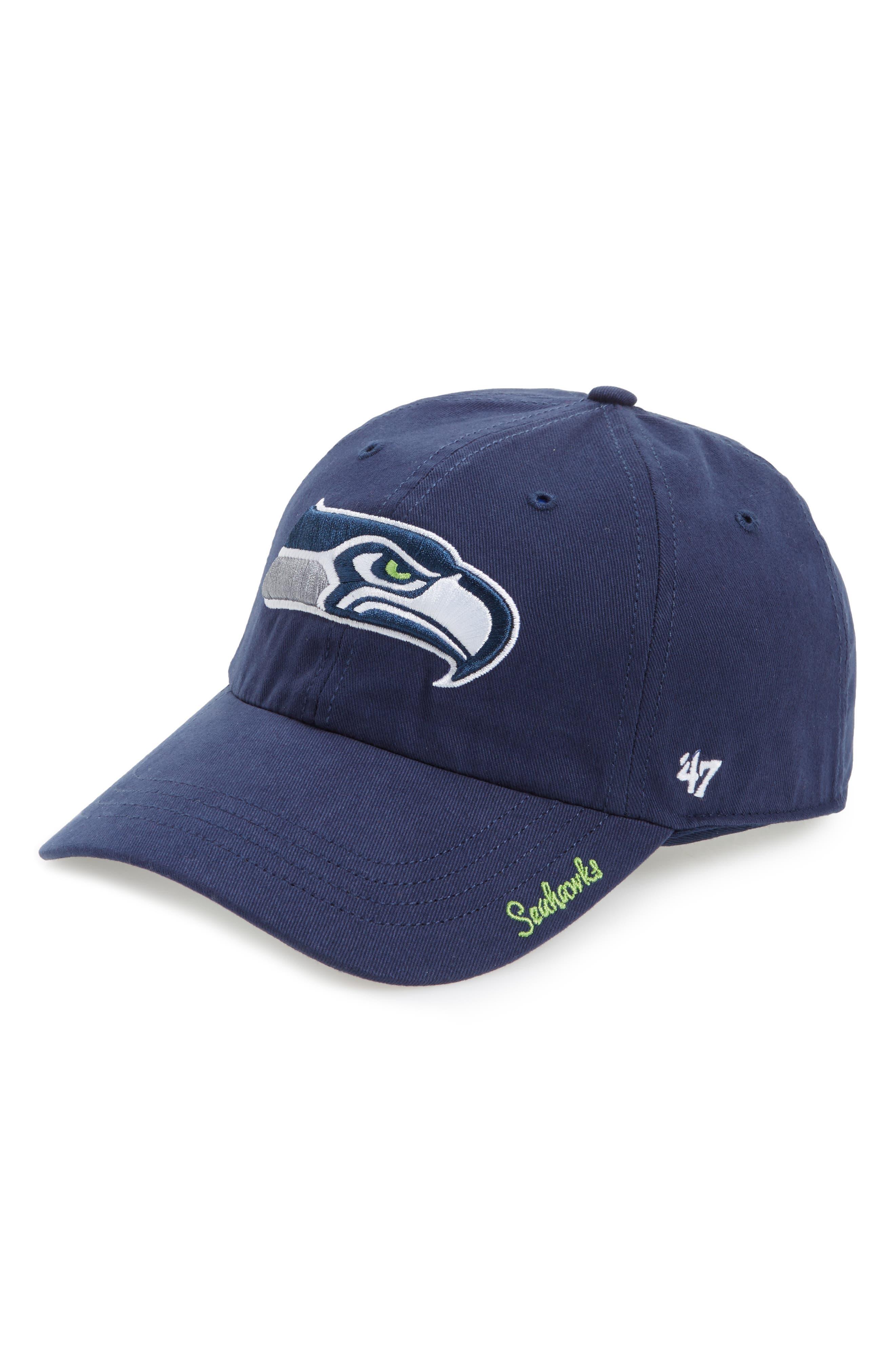 Seattle Seahawks Cap,                             Main thumbnail 1, color,                             410