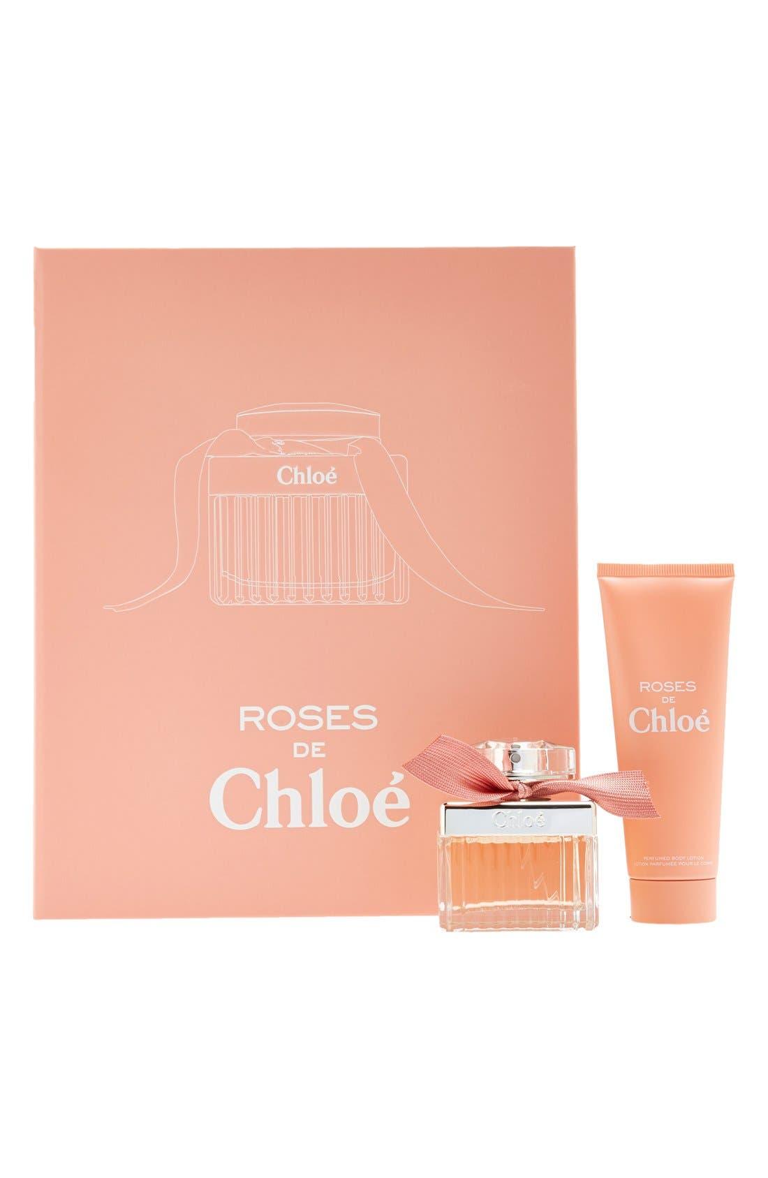 'Roses de Chloé' Set,                             Main thumbnail 1, color,                             000