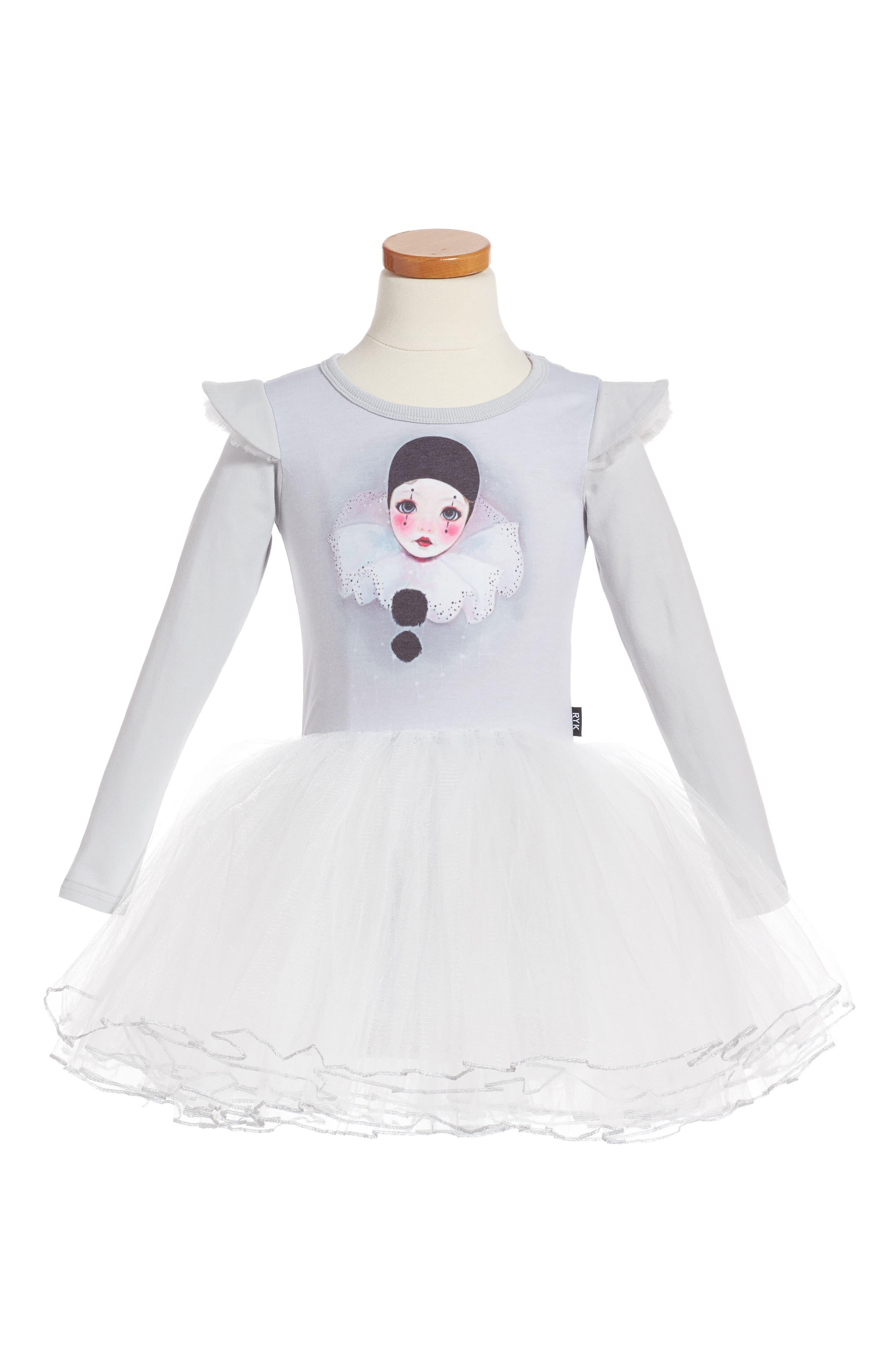 Pierrot Circus Dress,                         Main,                         color, 040