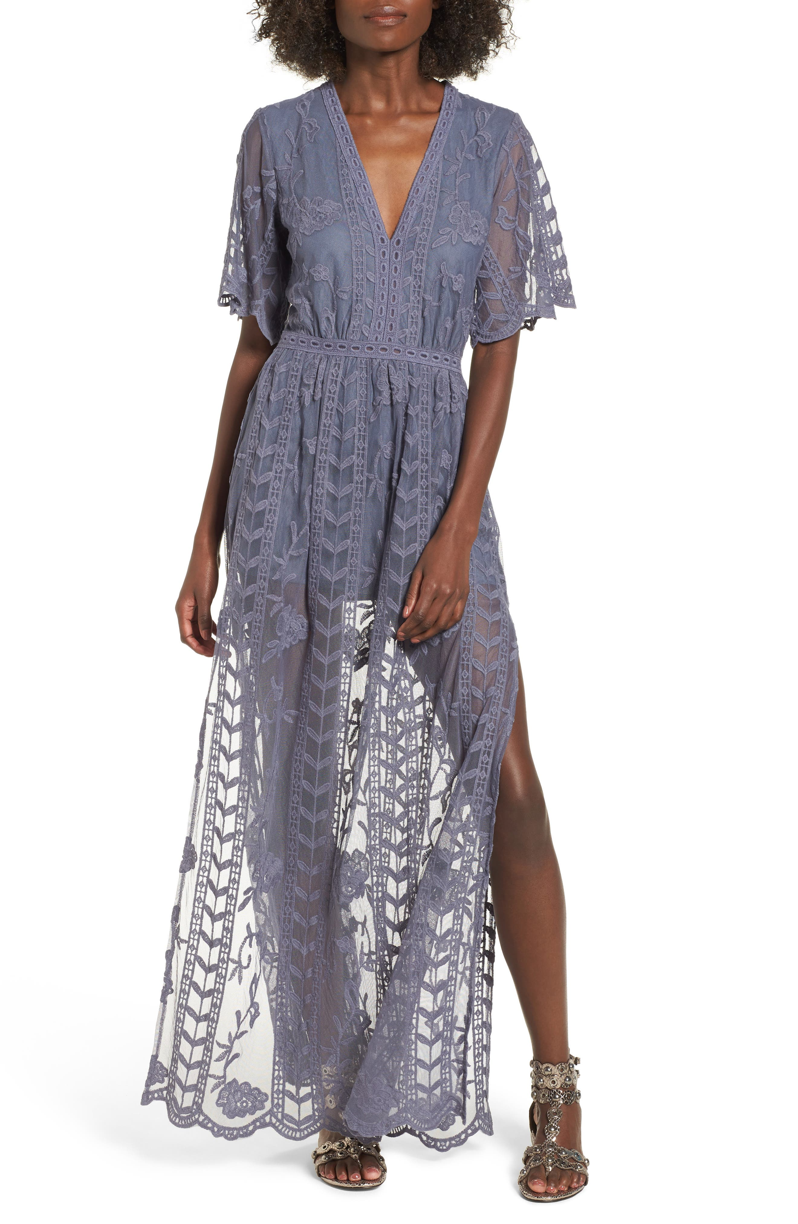 Lace Overlay Romper,                         Main,                         color, 020