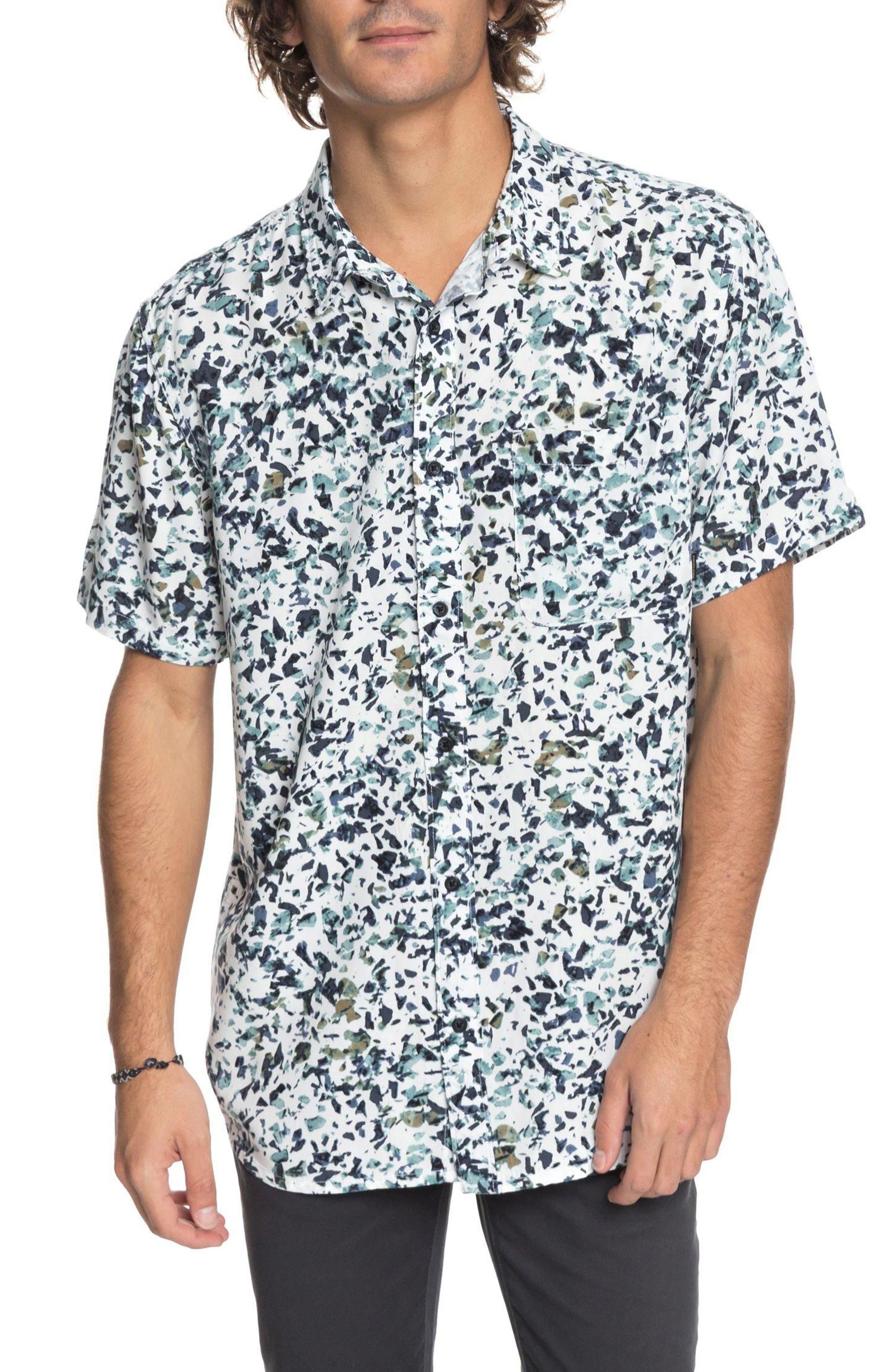 QUIKSILVER Fata Morgana Woven Shirt, Main, color, 101