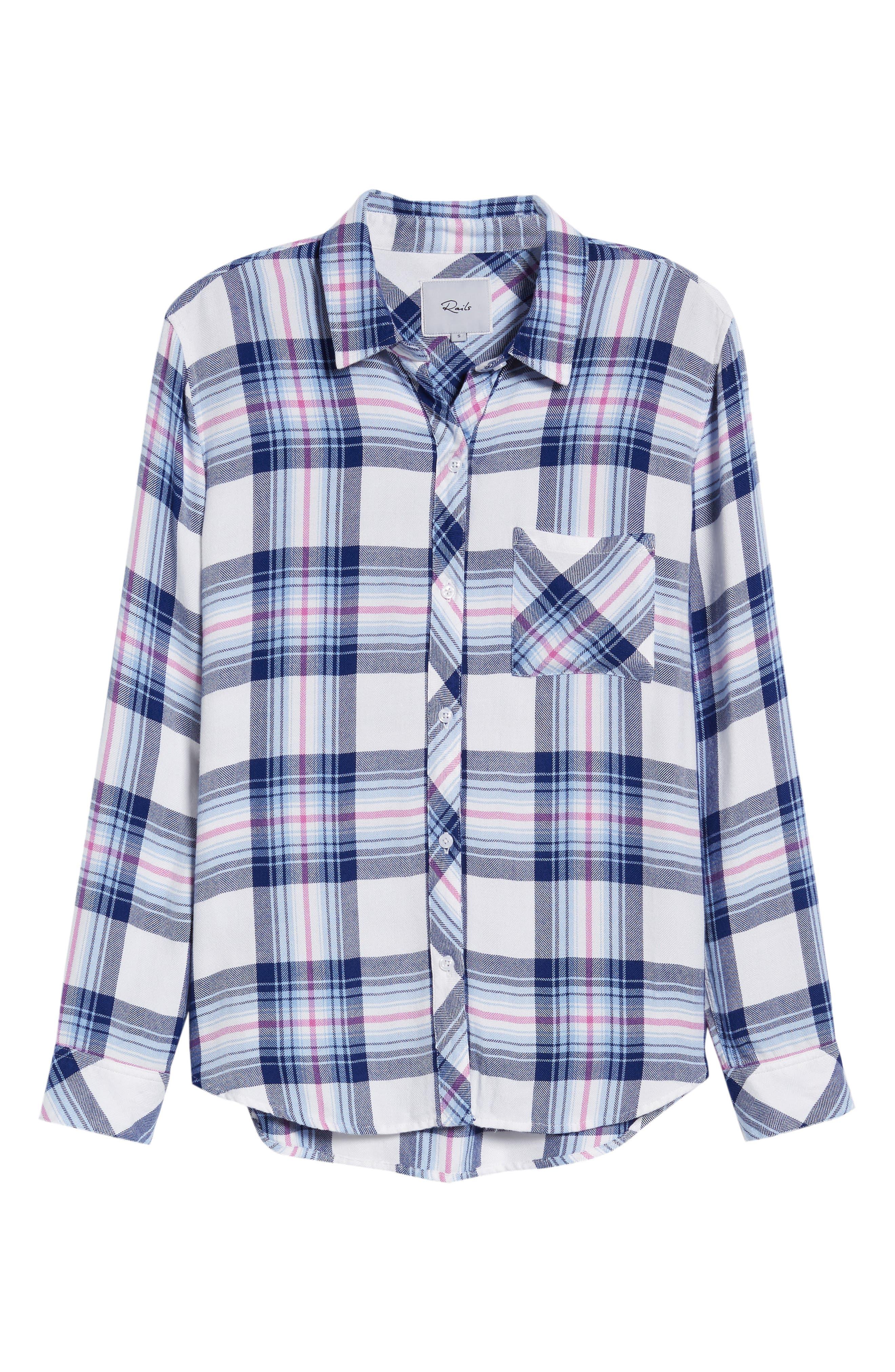 Hunter Plaid Shirt,                             Alternate thumbnail 687, color,