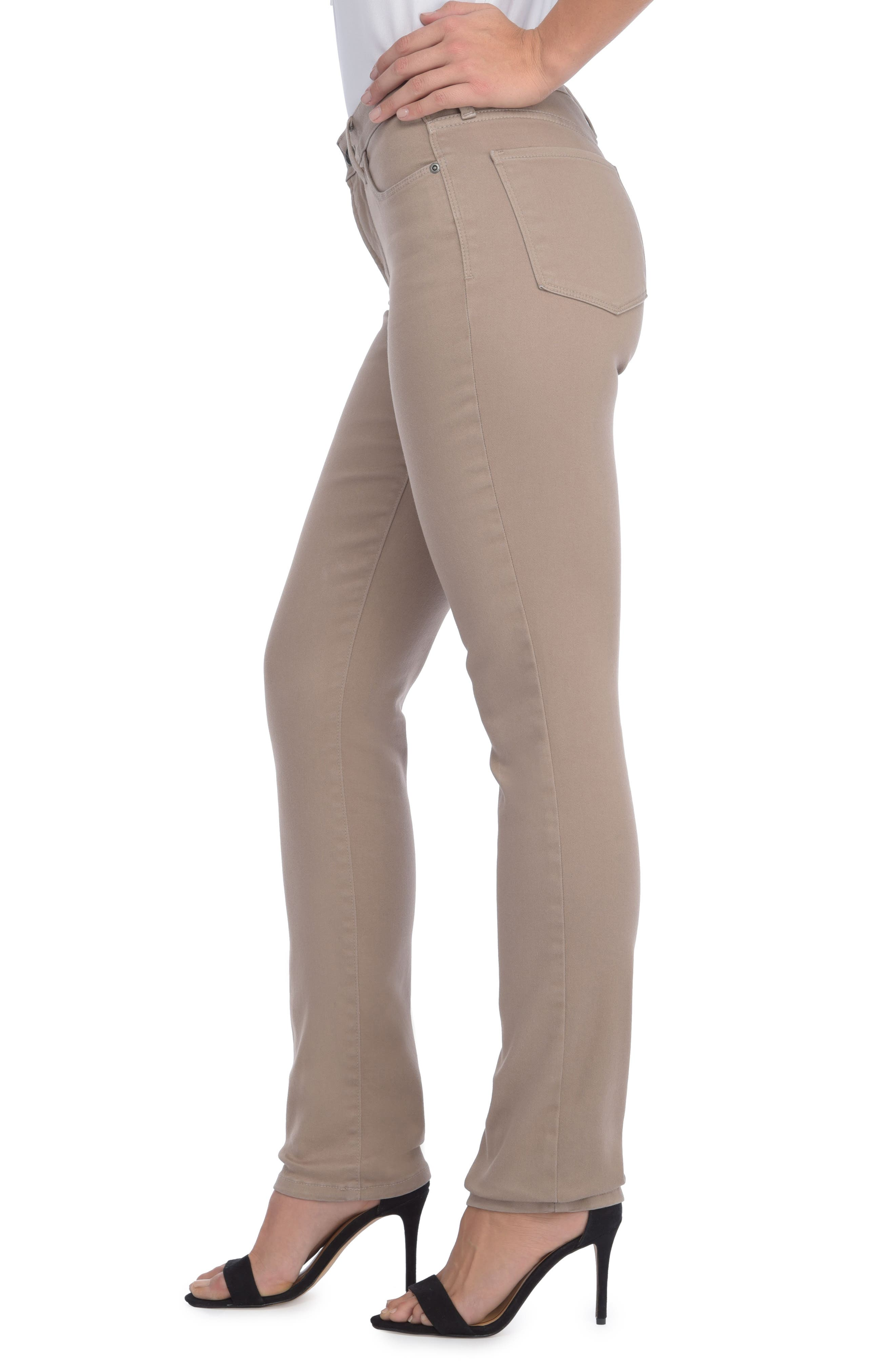 'Sheri' Stretch Twill Slim Leg Pants,                             Alternate thumbnail 8, color,