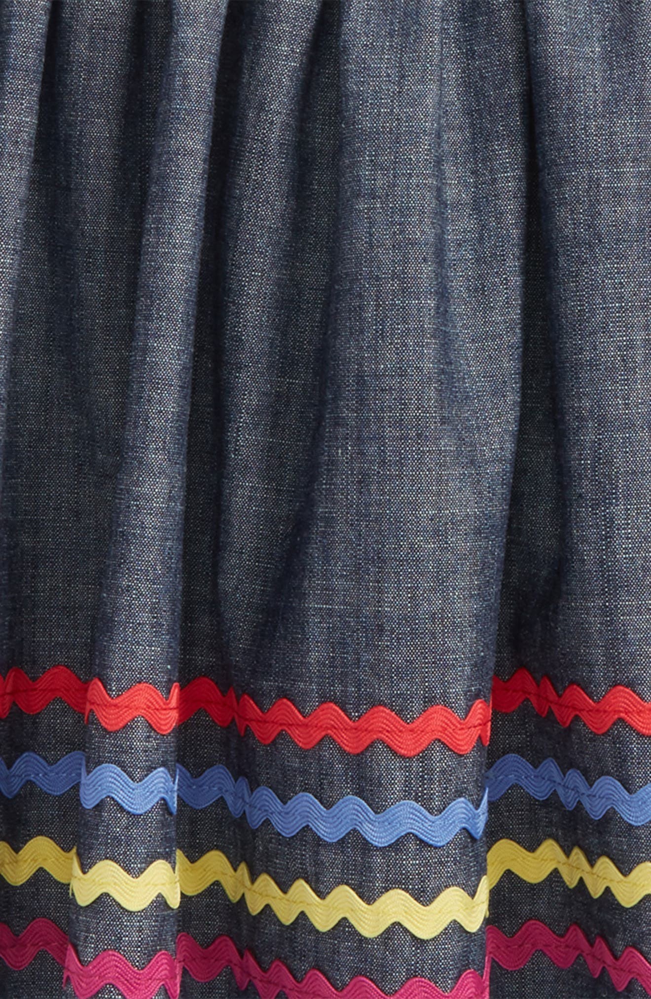 Rickrack Twirl Skirt,                             Alternate thumbnail 2, color,                             410