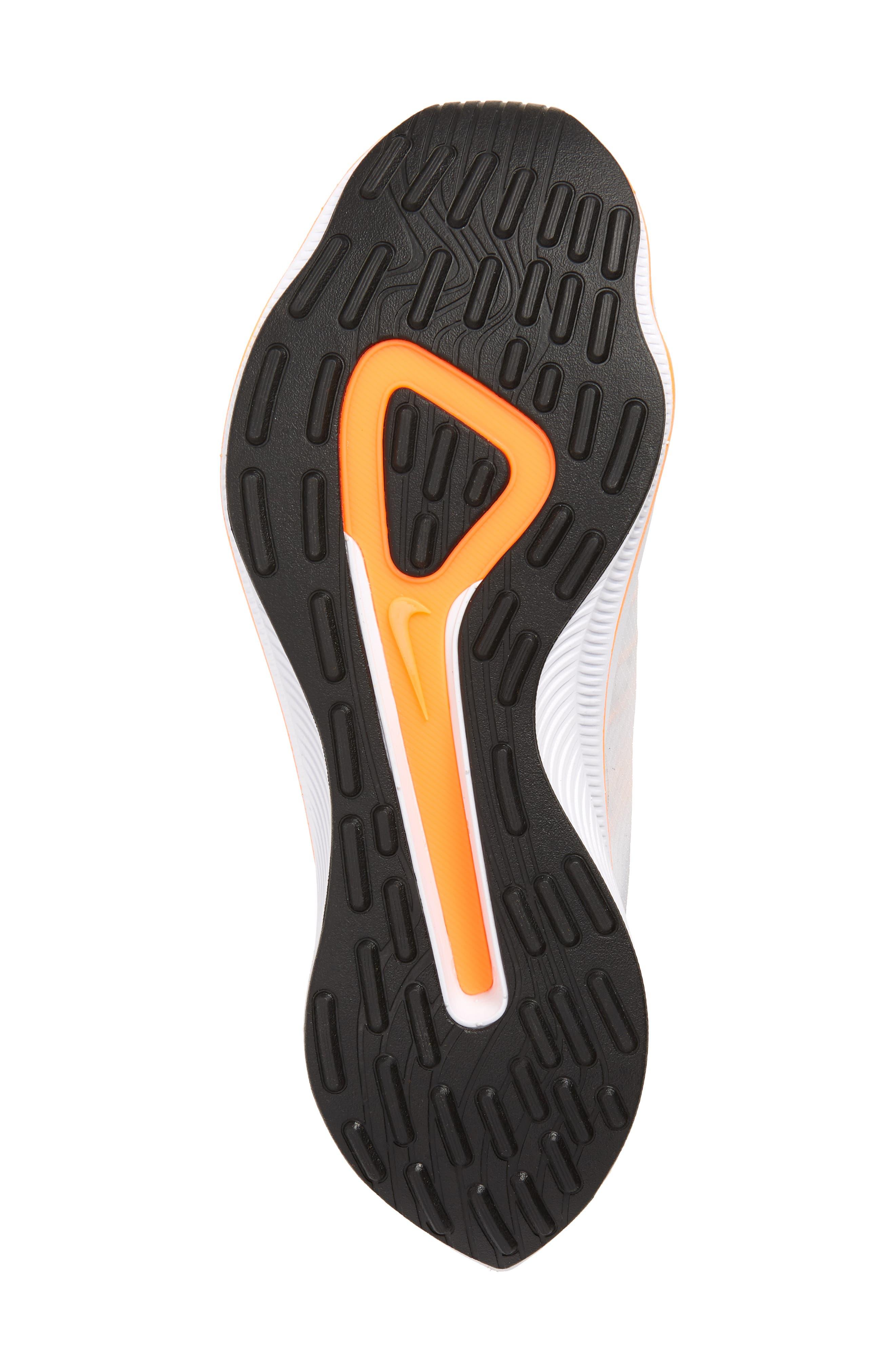 EXP-X14 Just Do It Sneaker,                             Alternate thumbnail 6, color,                             WHITE/ TOTAL ORANGE/ BLACK
