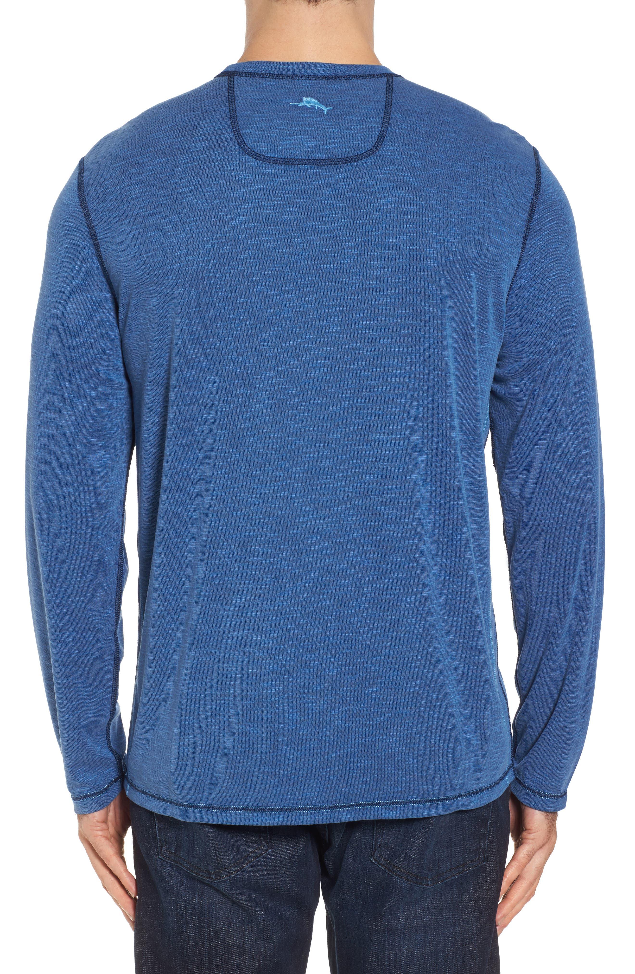 Flip Tide Standard Fit T-Shirt,                             Alternate thumbnail 3, color,                             GALAXY BLUE