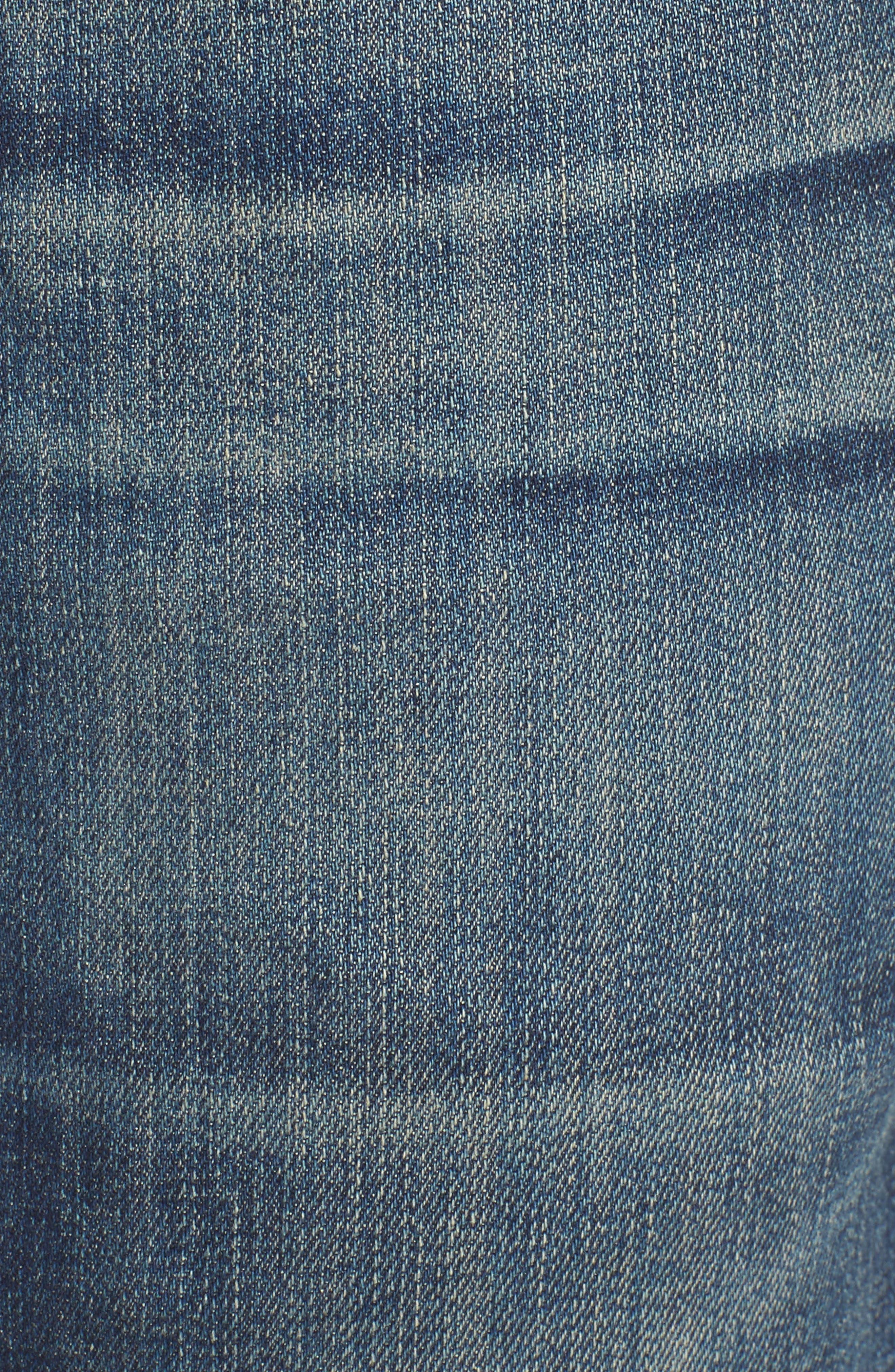 Gage Slim Straight Leg Jeans,                             Alternate thumbnail 5, color,                             DUNES