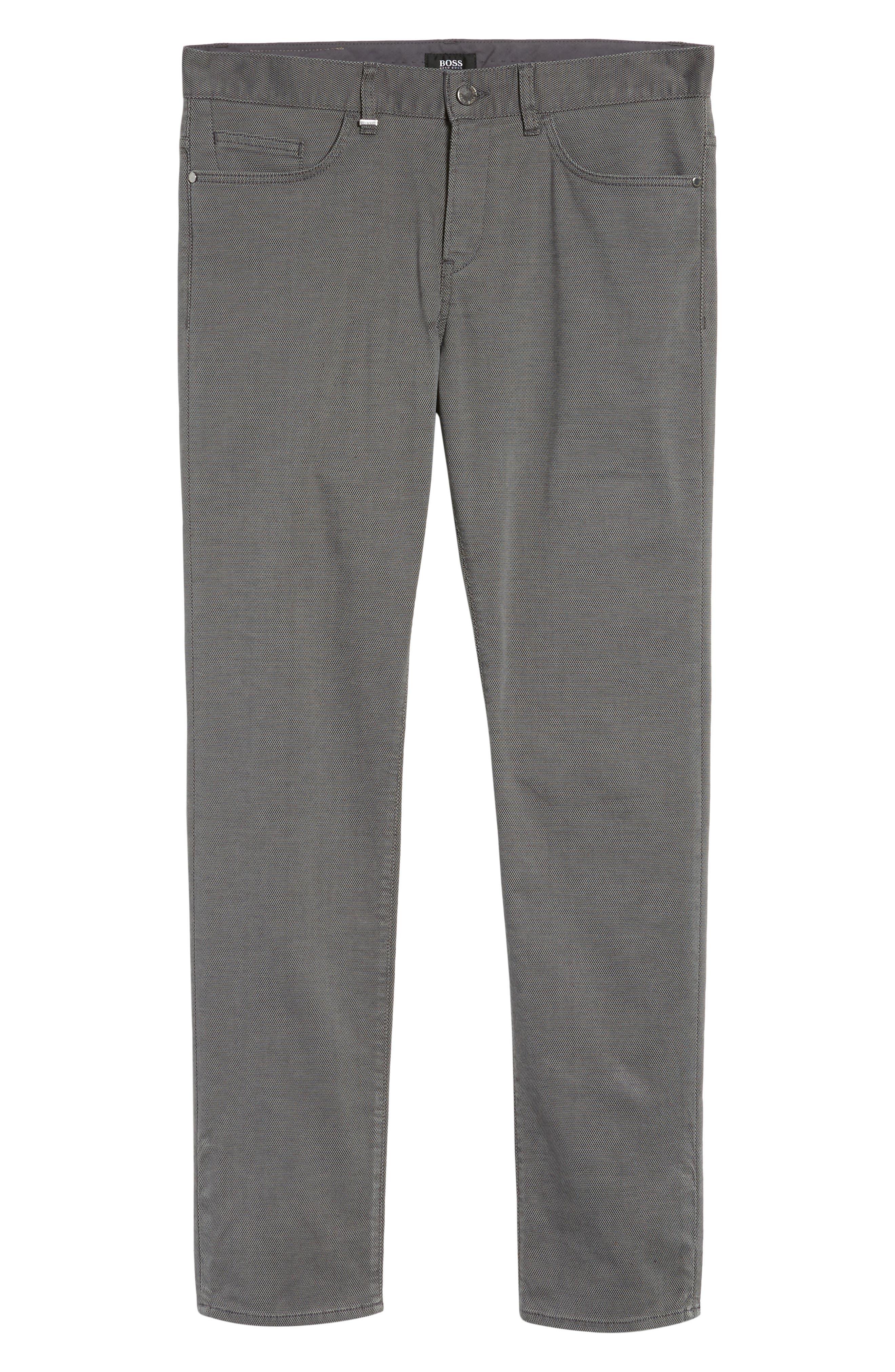 Delaware Slim Fit Structure Jeans,                             Alternate thumbnail 17, color,
