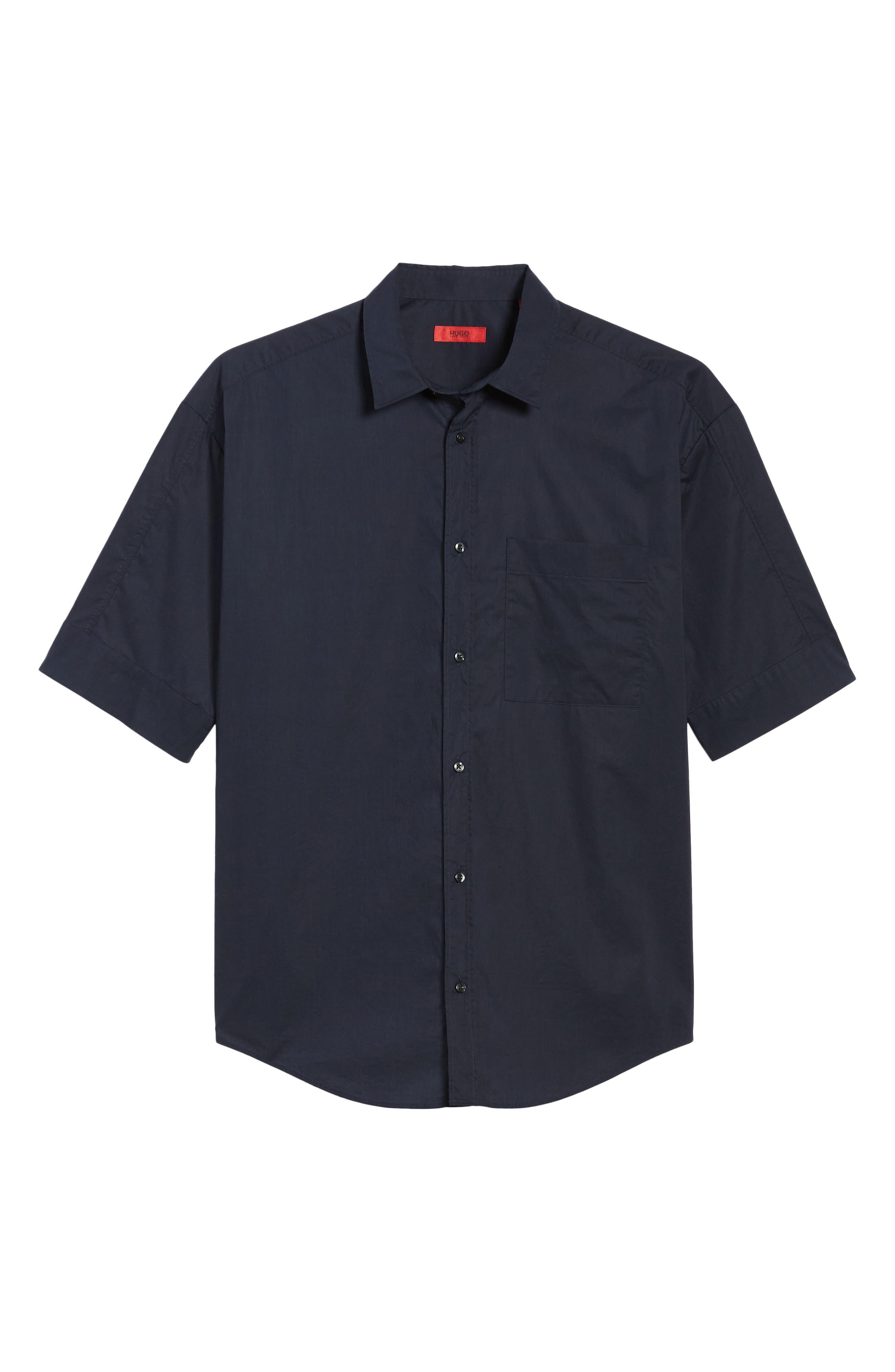 Eynold Oversized Short Sleeve Sport Shirt,                             Alternate thumbnail 6, color,                             413