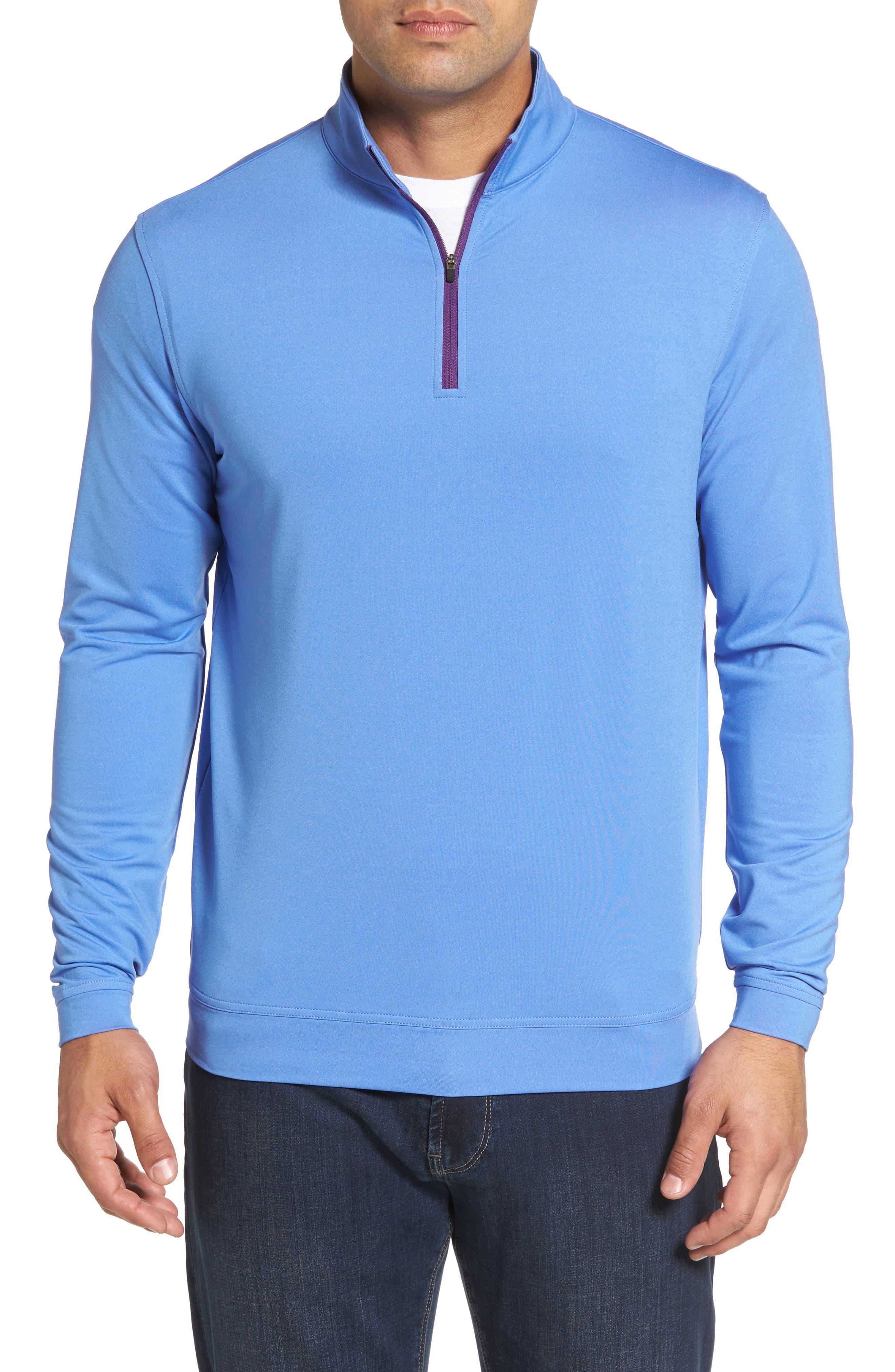 Perth Quarter Zip Stretch Pullover,                             Main thumbnail 3, color,