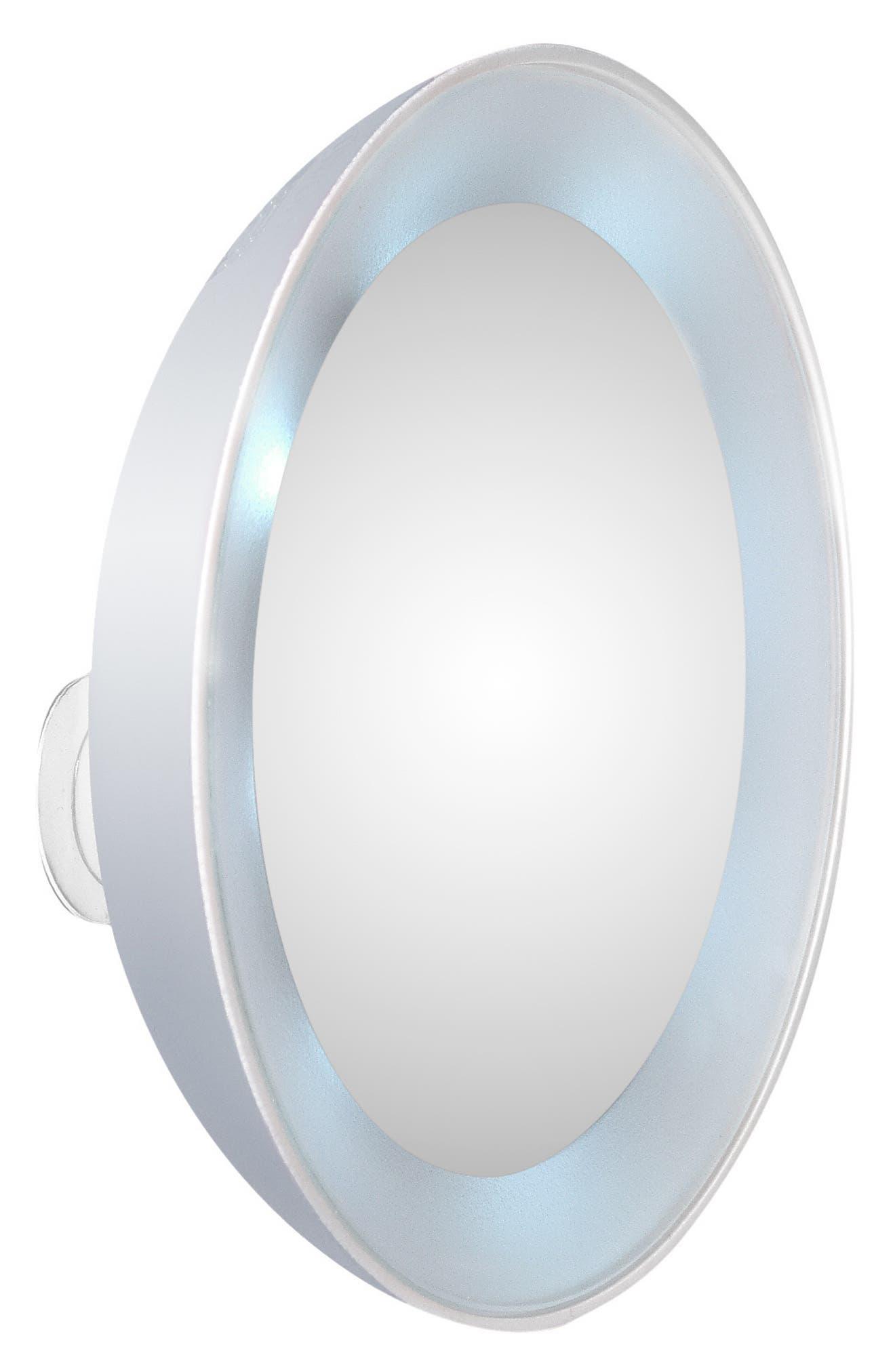 LED 15x Lighted Mirror,                             Alternate thumbnail 2, color,                             000