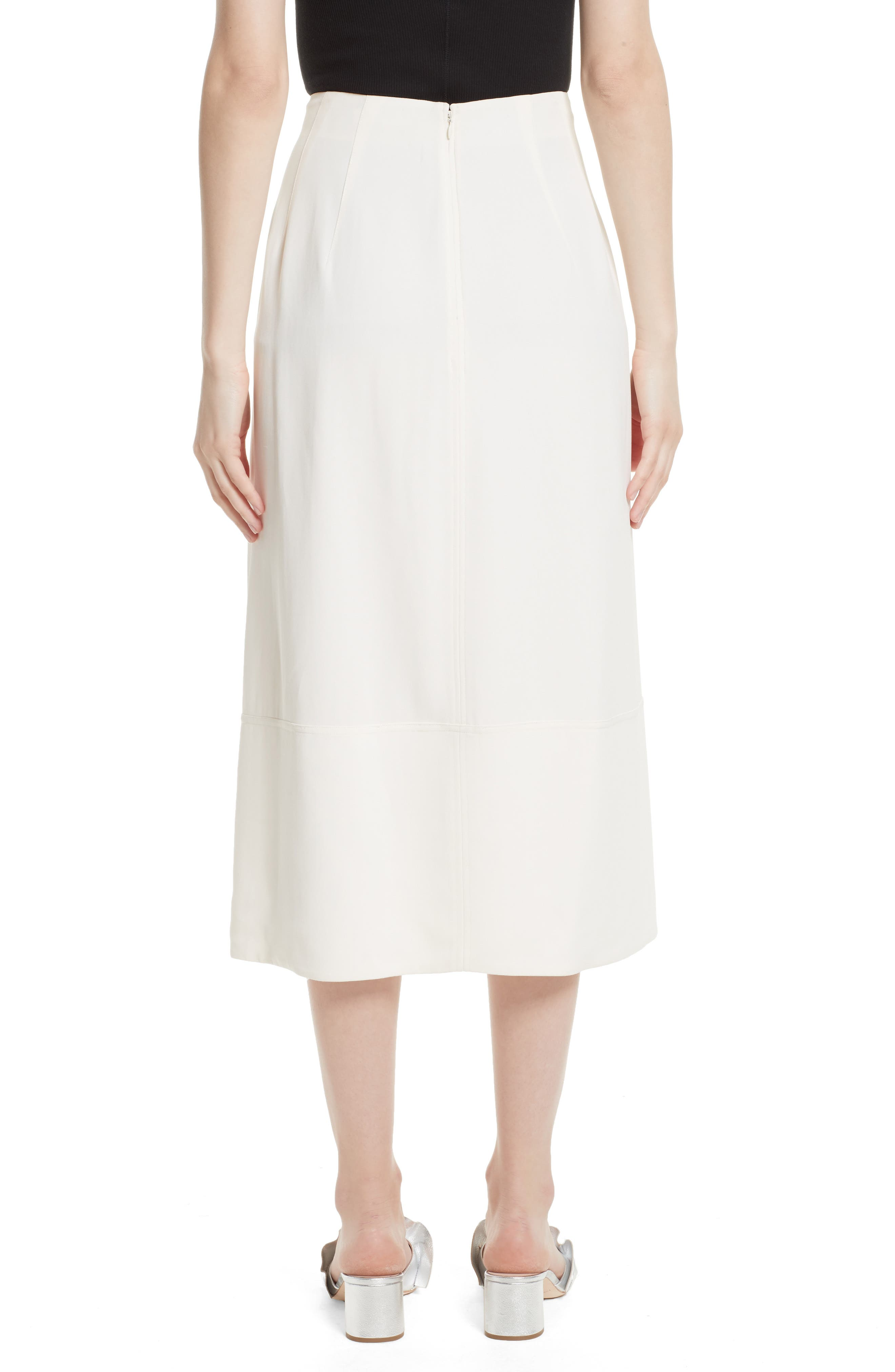 Lottie A-Line Midi Skirt,                             Alternate thumbnail 2, color,                             903