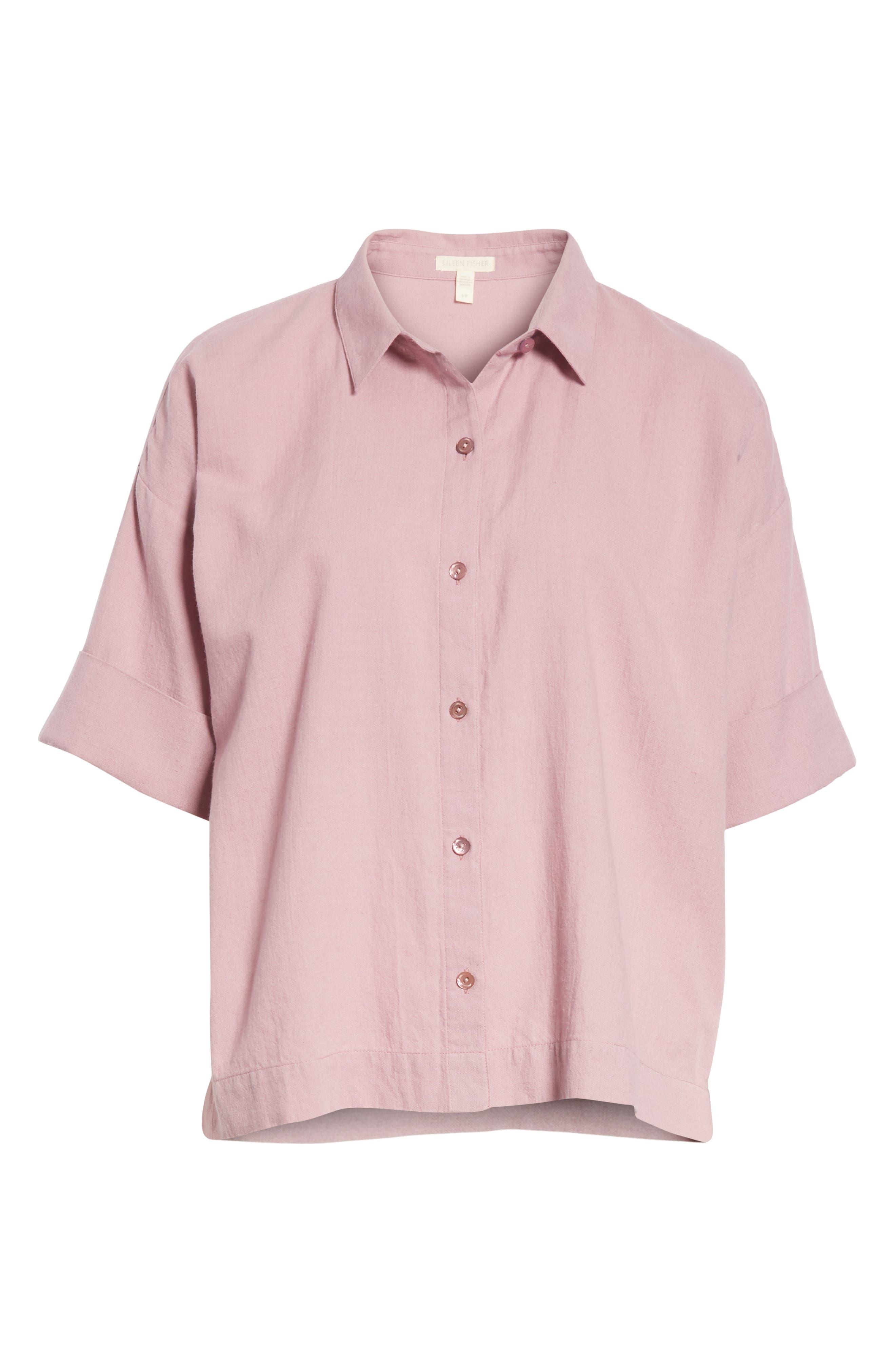 Classic Boxy Shirt,                             Alternate thumbnail 12, color,