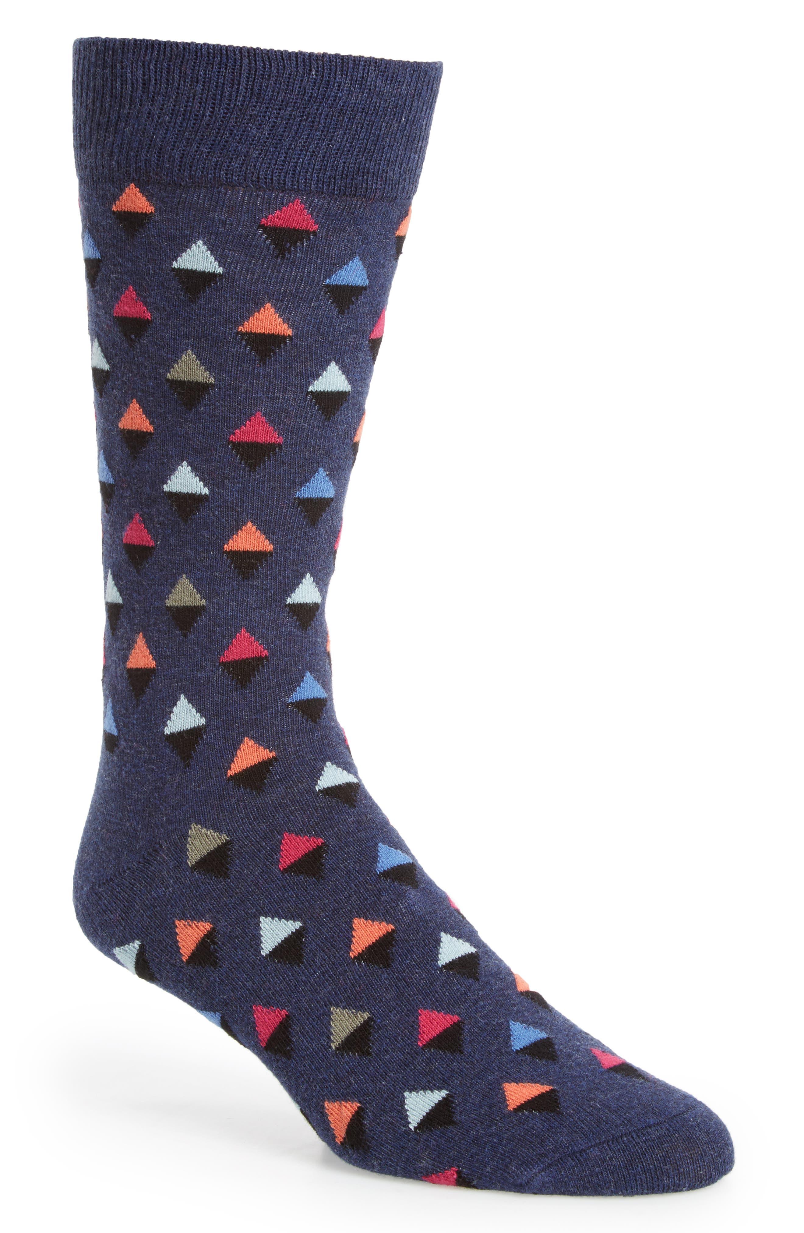 Diamond Socks,                         Main,                         color, 410