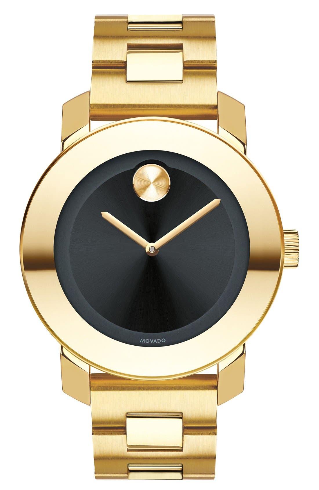 'Bold' Round Bracelet Watch, 36mm,                             Main thumbnail 7, color,