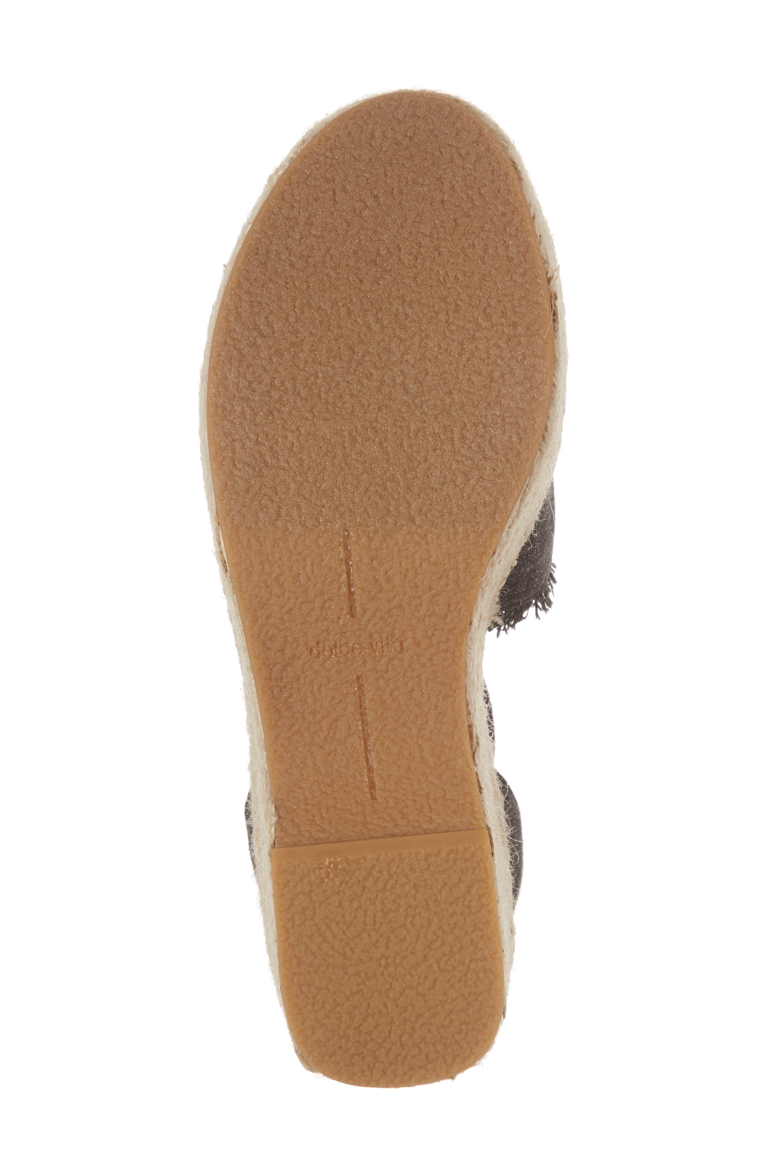 Lesly Espadrille Platform Sandal,                             Alternate thumbnail 37, color,