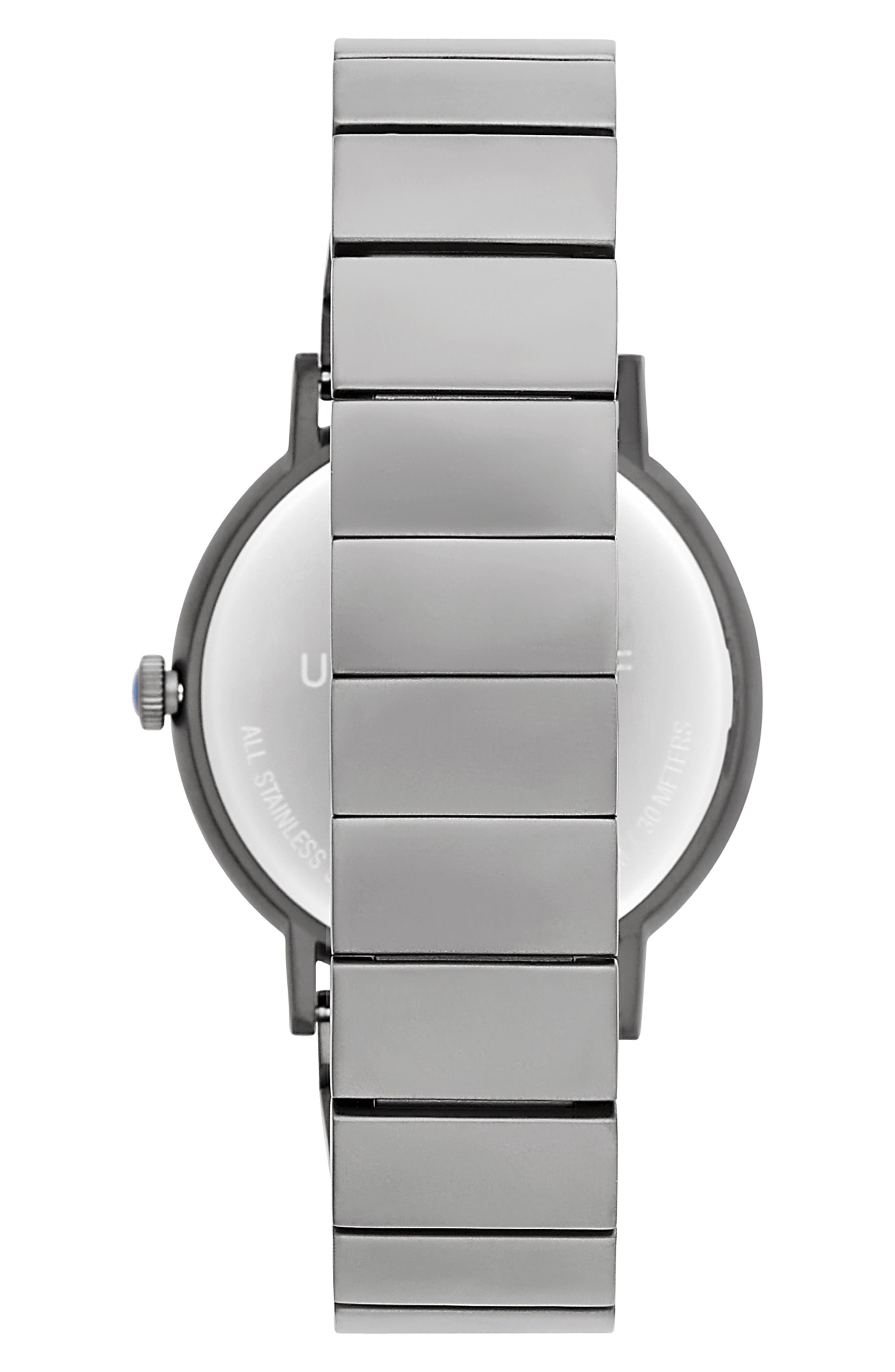 Norrebro Bracelet Watch, 40mm,                             Alternate thumbnail 2, color,                             GREY