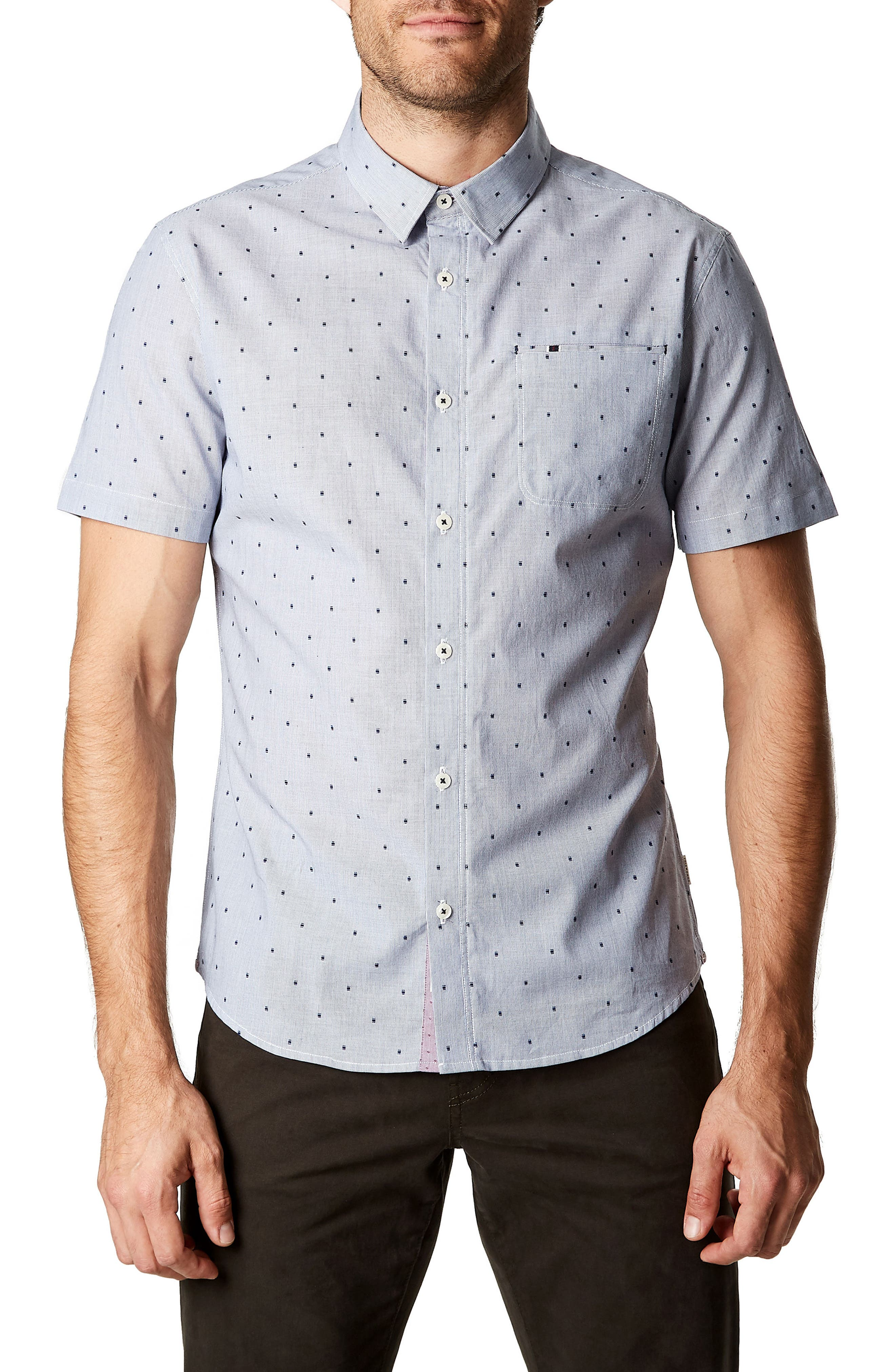 Just a Memory Trim Fit Sport Shirt,                         Main,                         color, 410