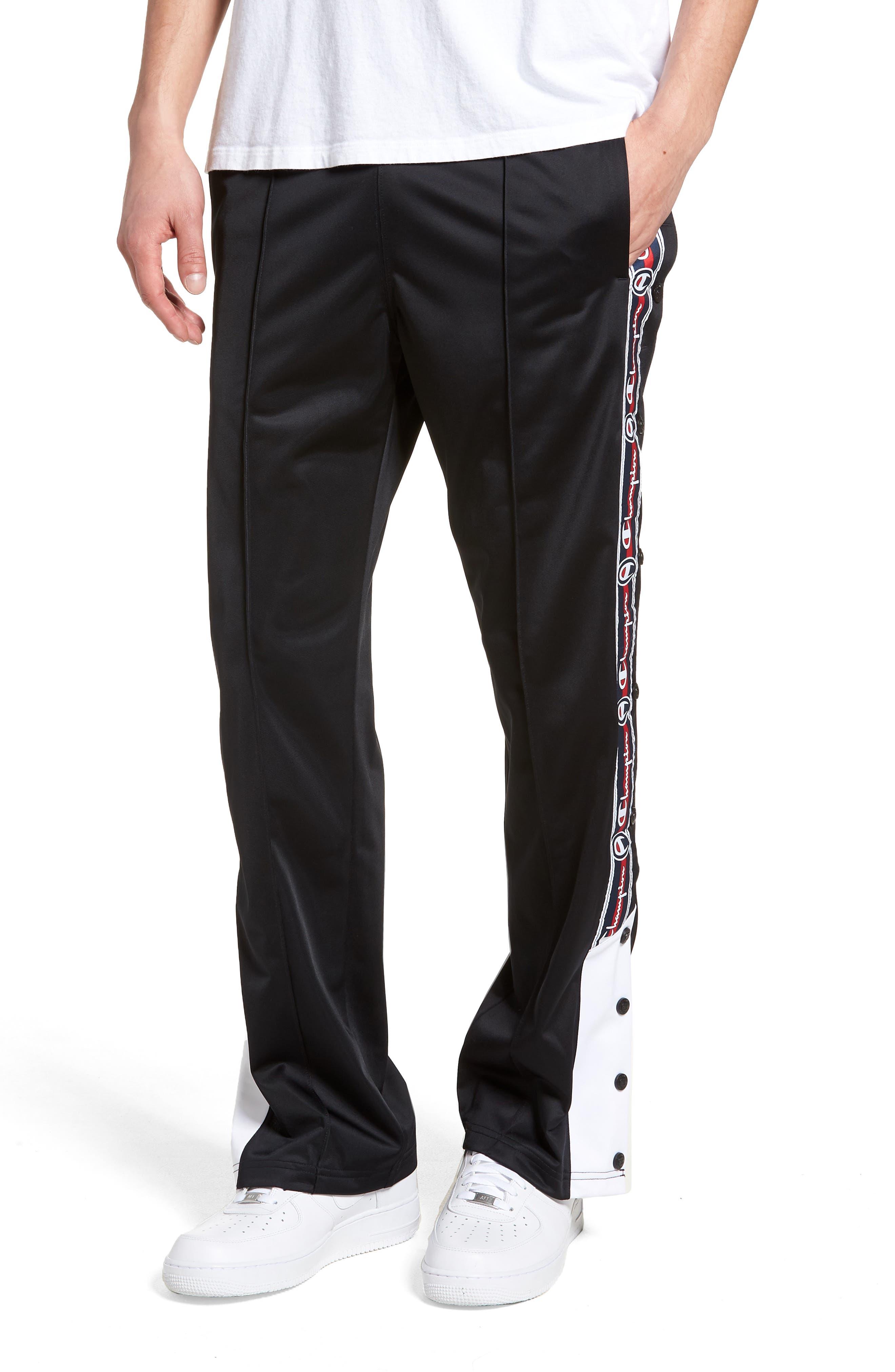 Polywarp Knit Pants,                         Main,                         color, 001