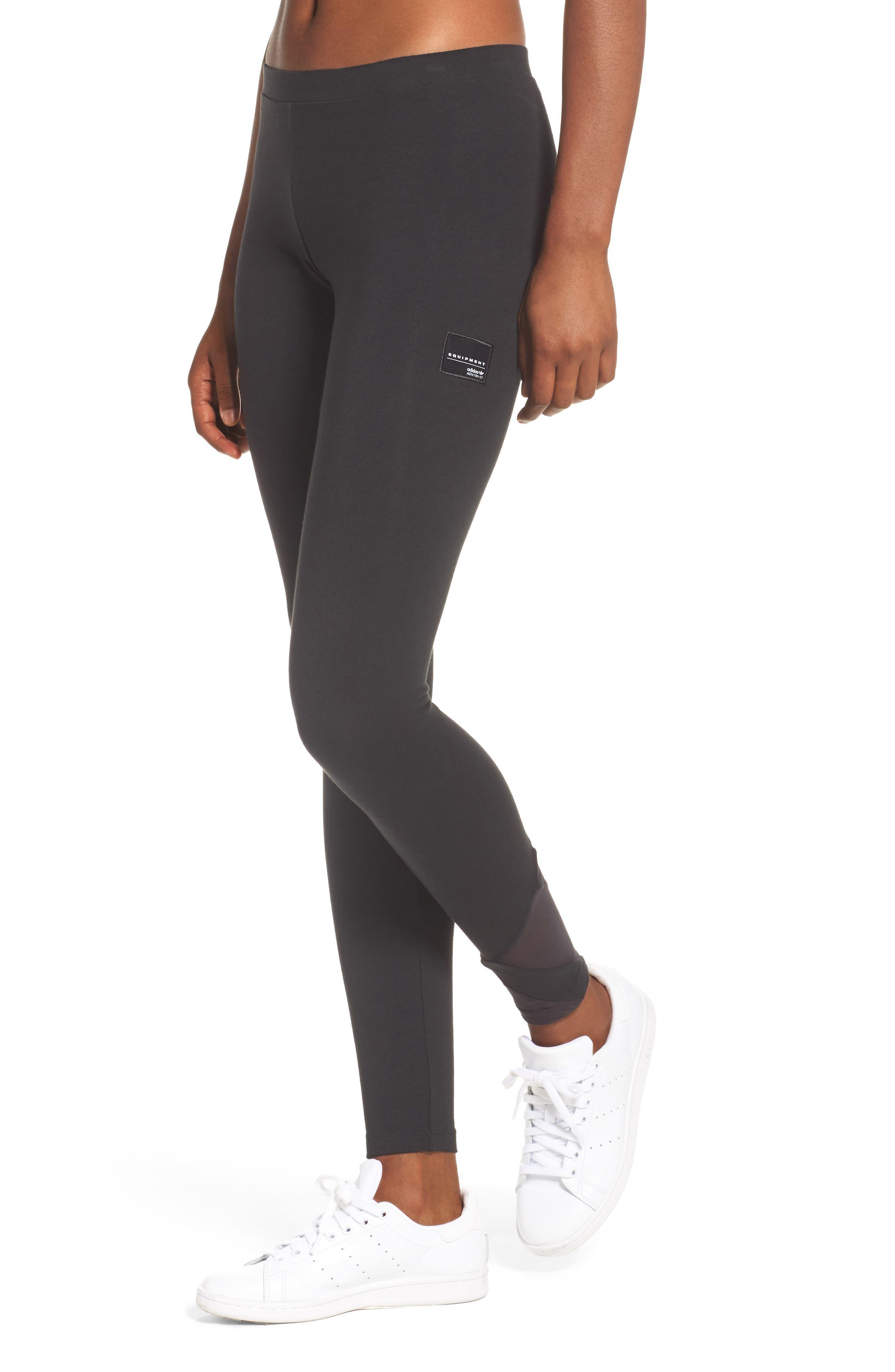 EQT Asymmetrical Leggings,                         Main,                         color, 001