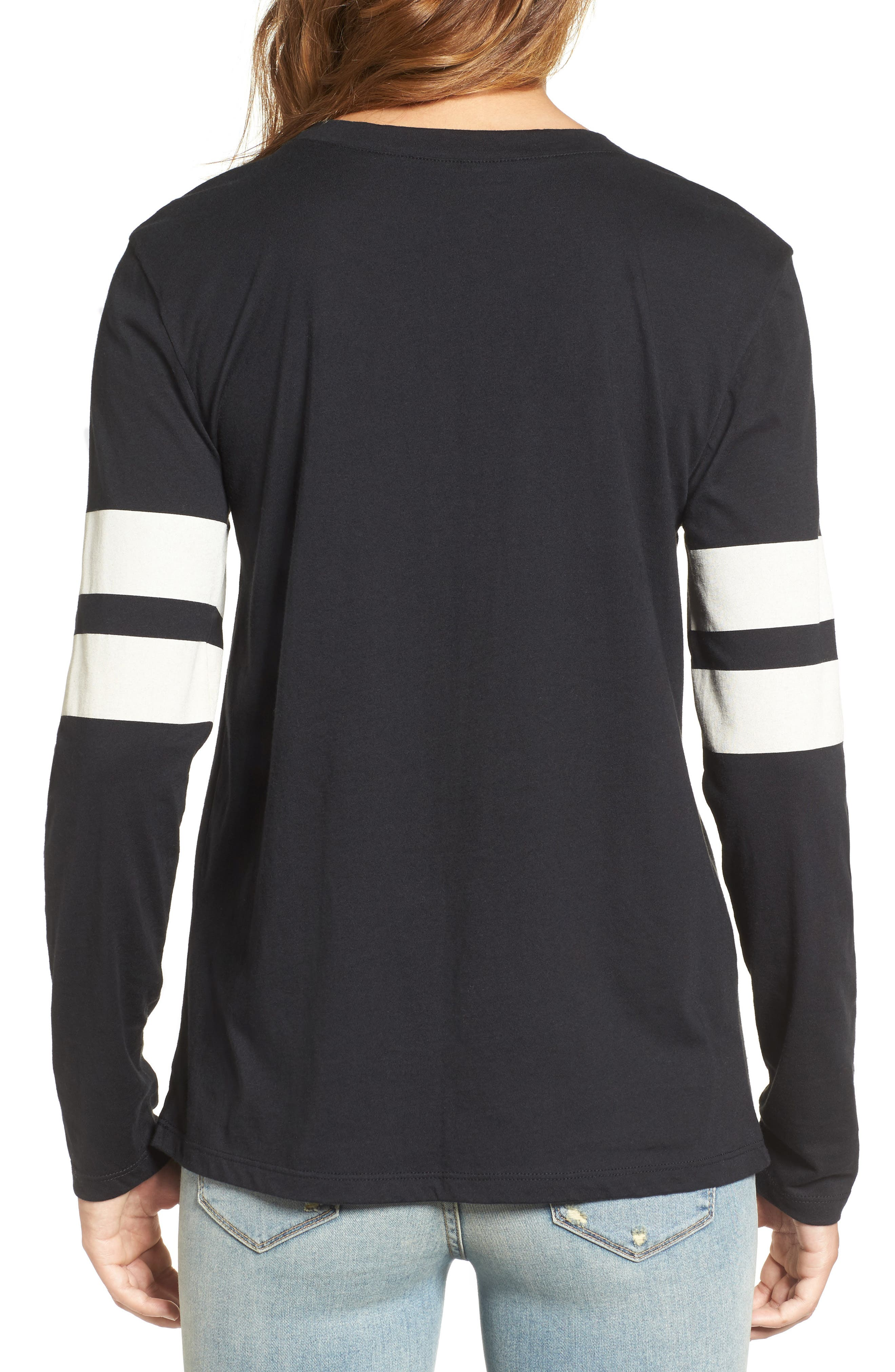 Varsity Stripe Cotton Tee,                             Alternate thumbnail 59, color,