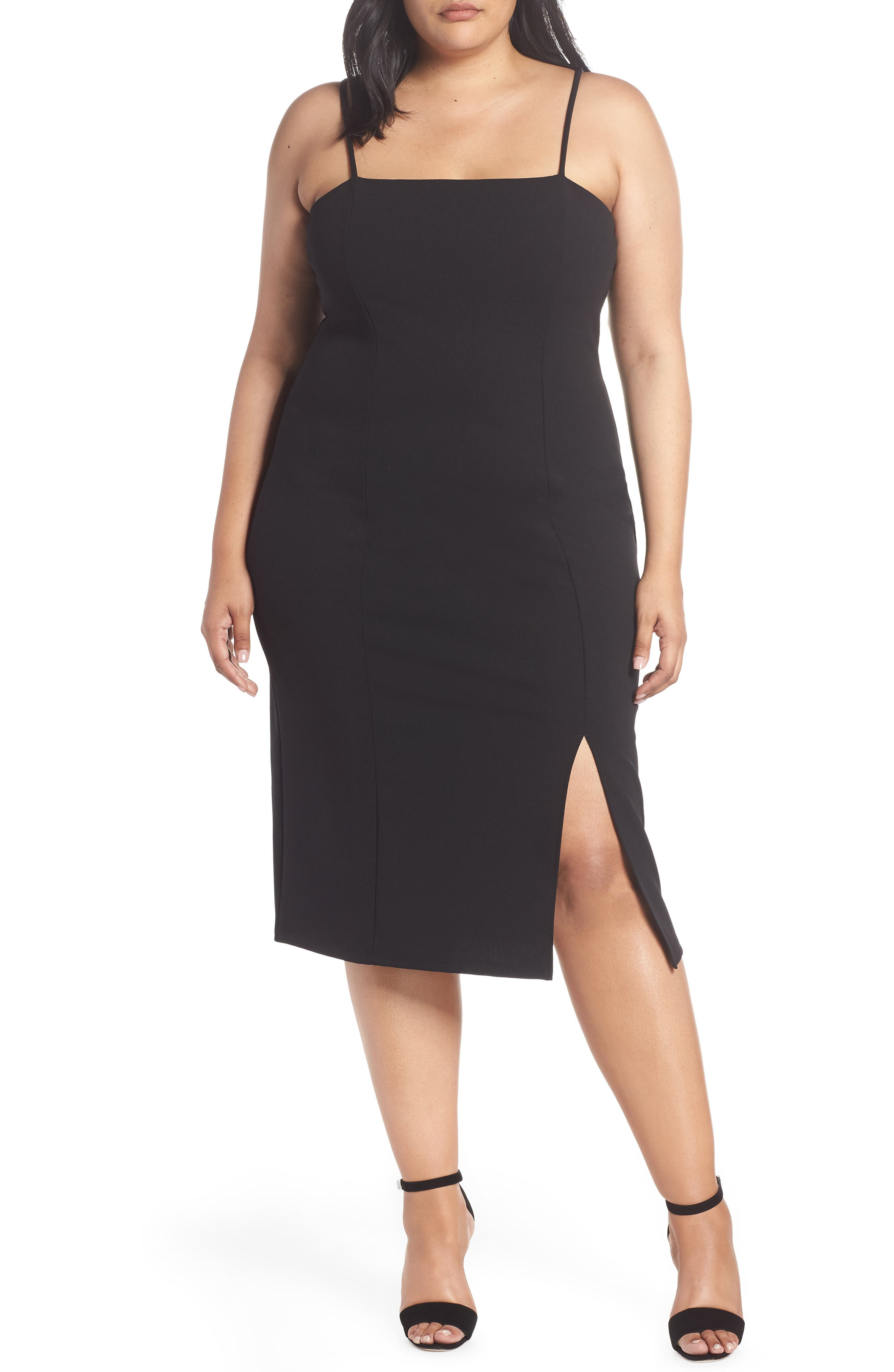 plus size women's leith body-con dress, size 4x - black