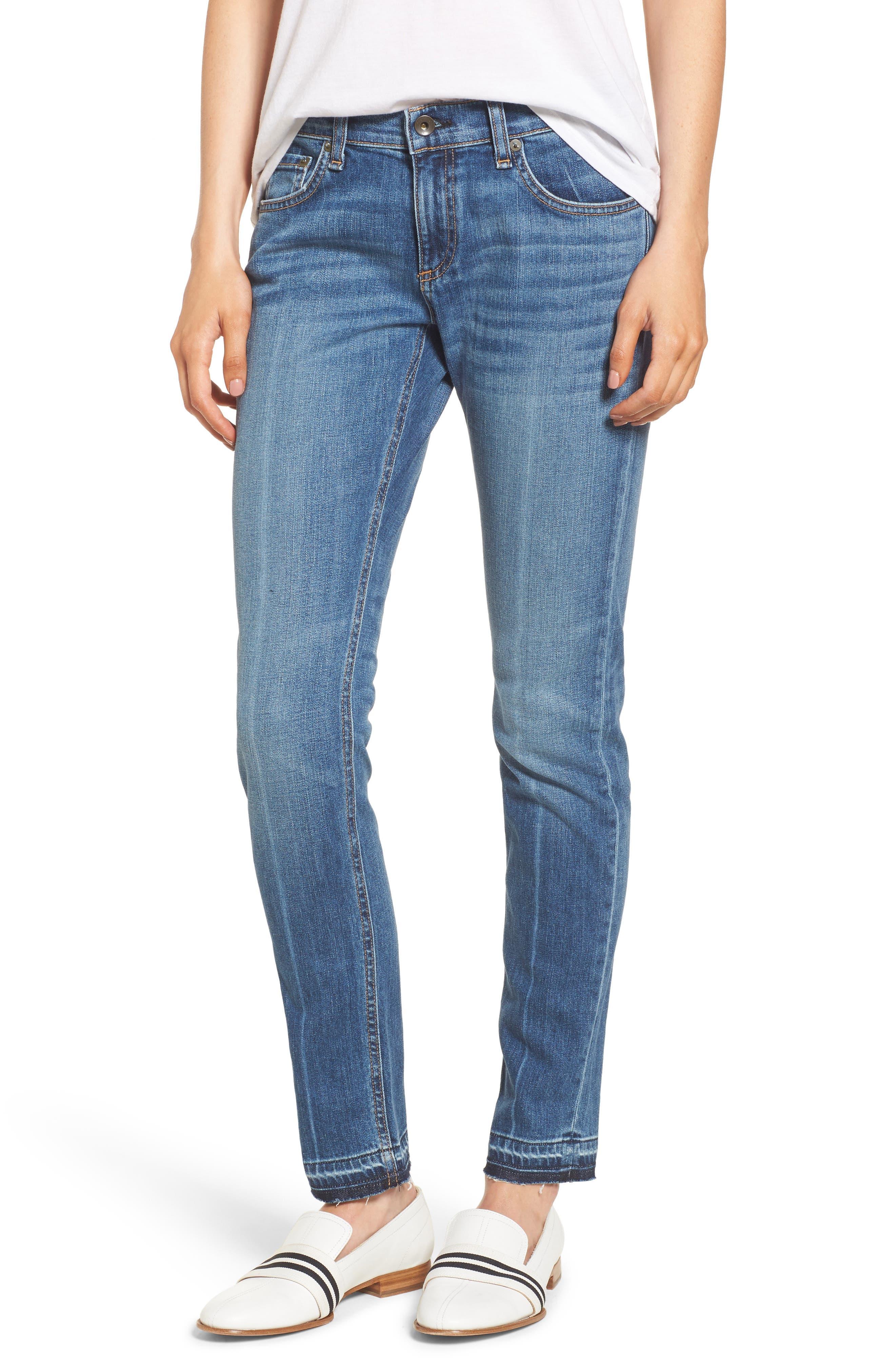 The Dre Slim Boyfriend Jeans,                         Main,                         color, 428