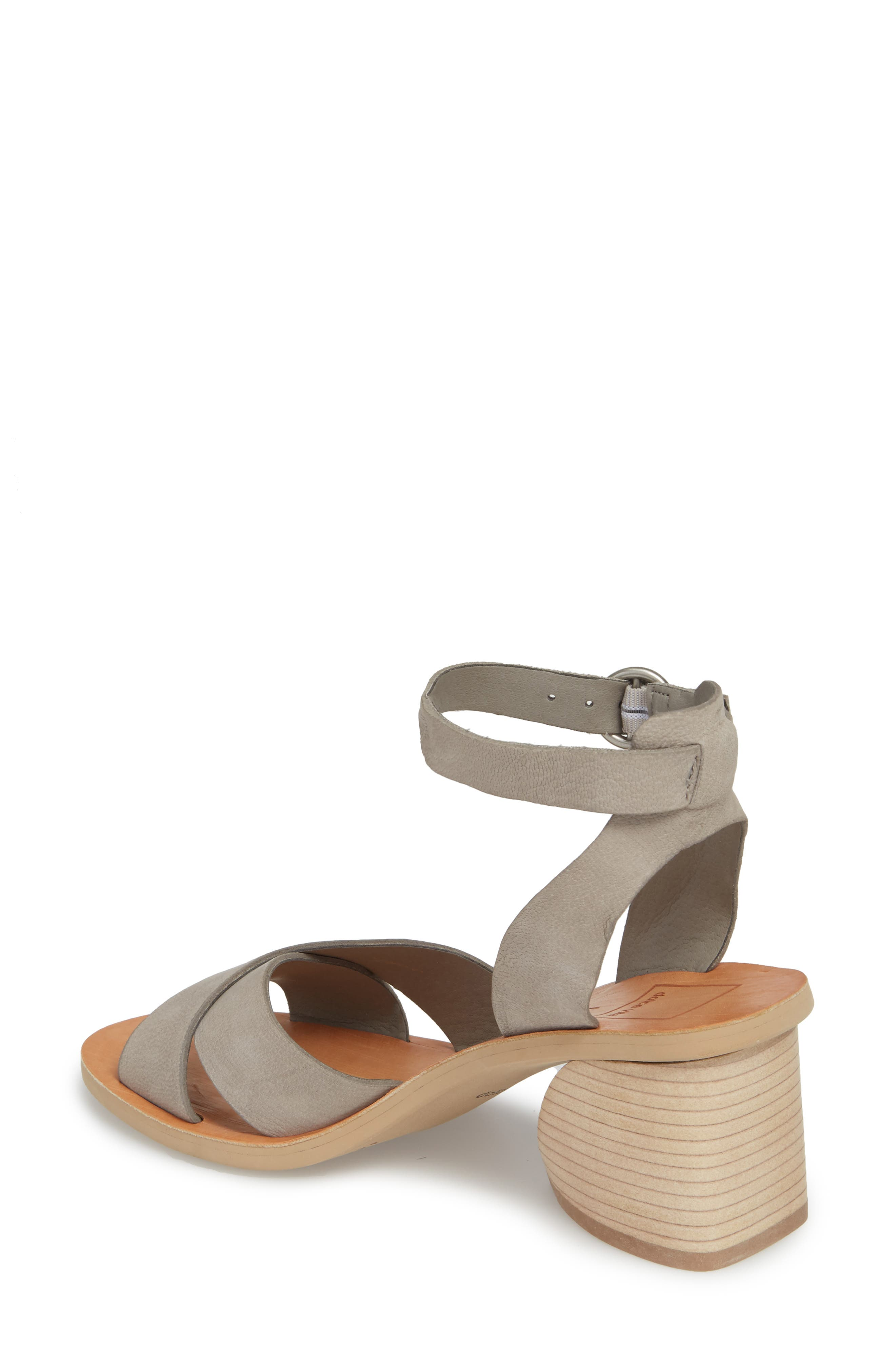 Roman Flared Heel Sandal,                             Alternate thumbnail 3, color,