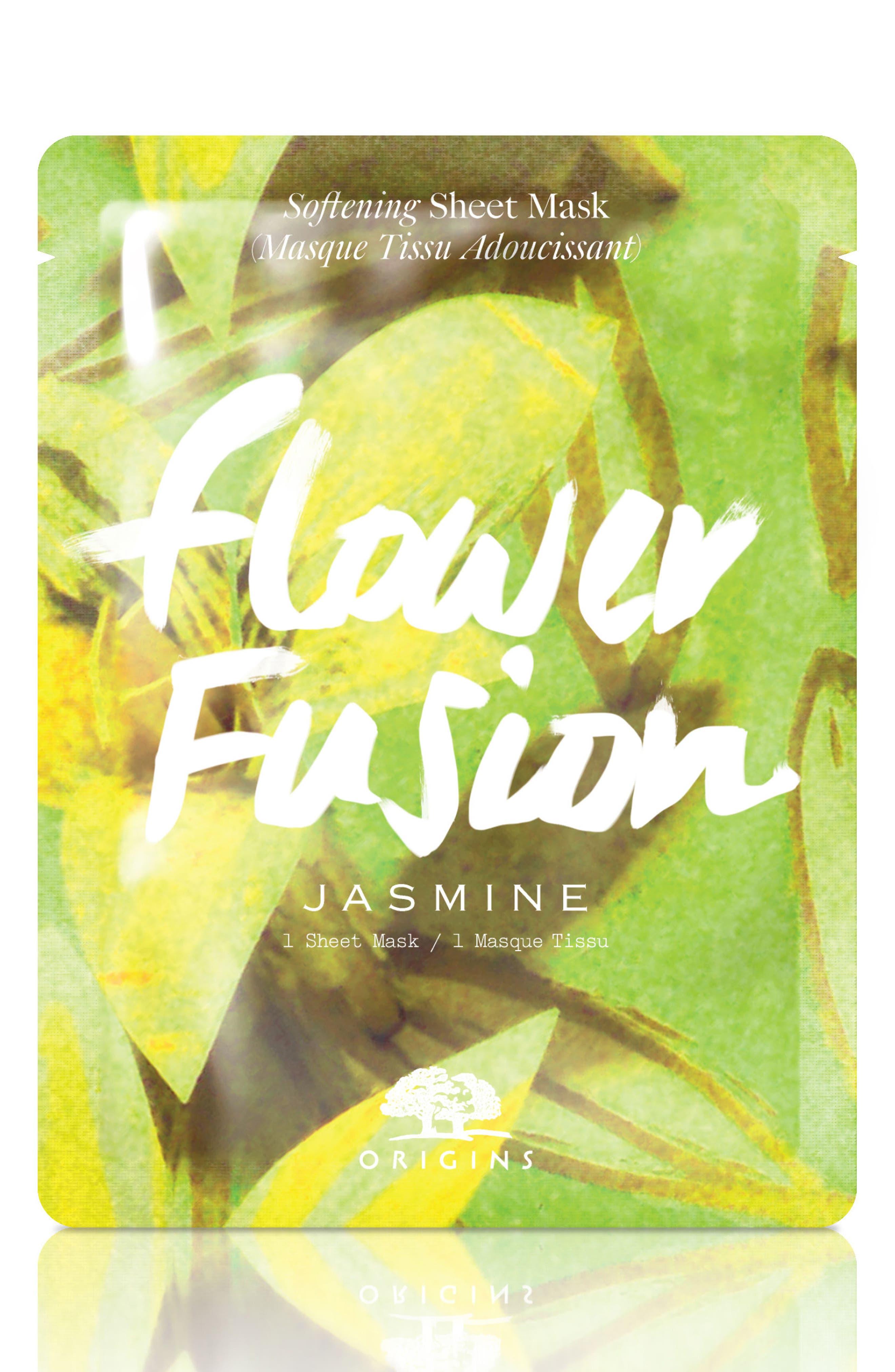 Flower Fusion Hydrating Sheet Mask,                             Main thumbnail 1, color,