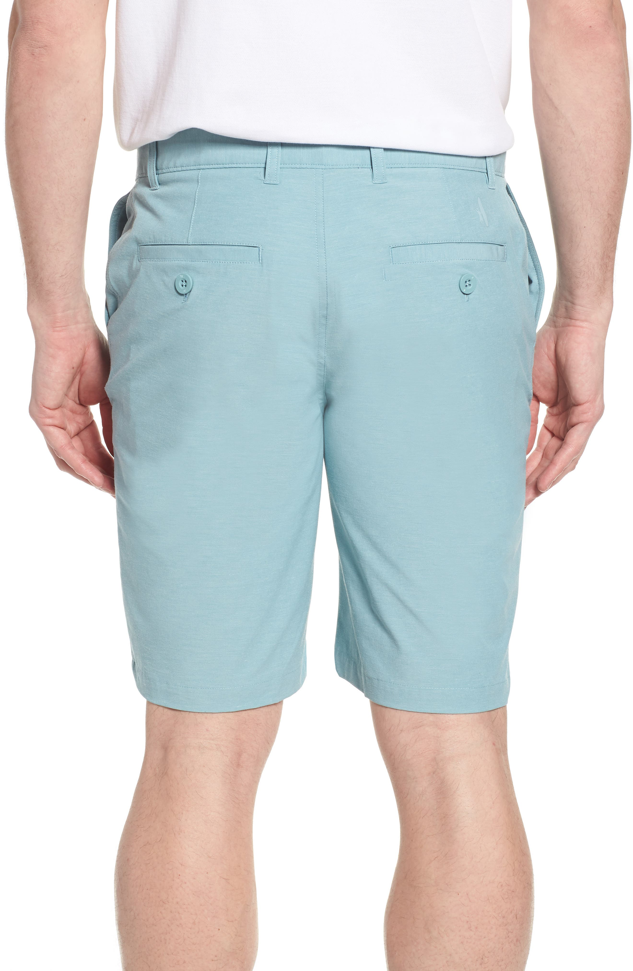Wyatt Regular Fit Stretch Shorts,                             Alternate thumbnail 8, color,