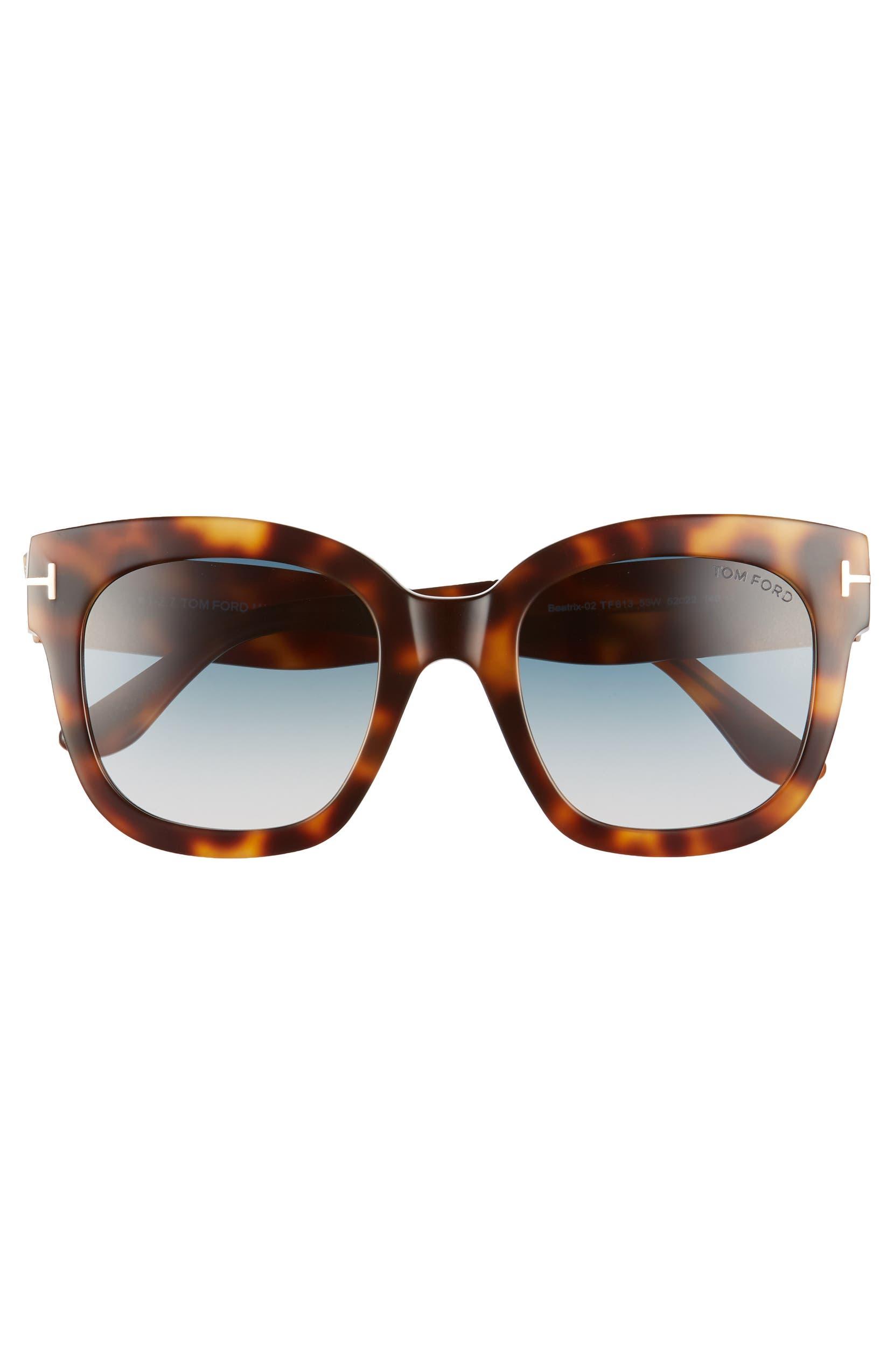 0b15a25367 Tom Ford Beatrix 52mm Sunglasses