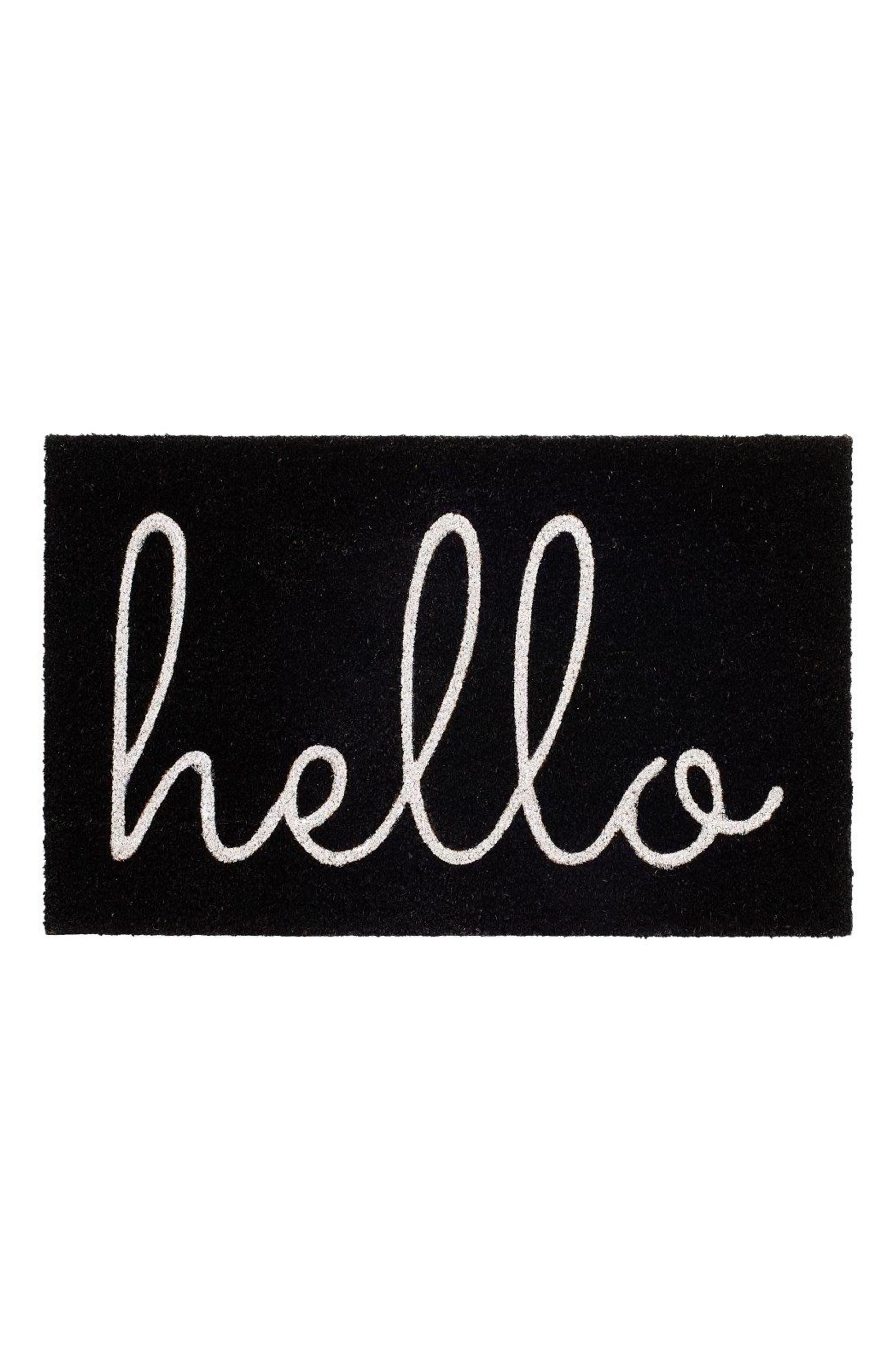 Hello Door Mat,                         Main,                         color, 001