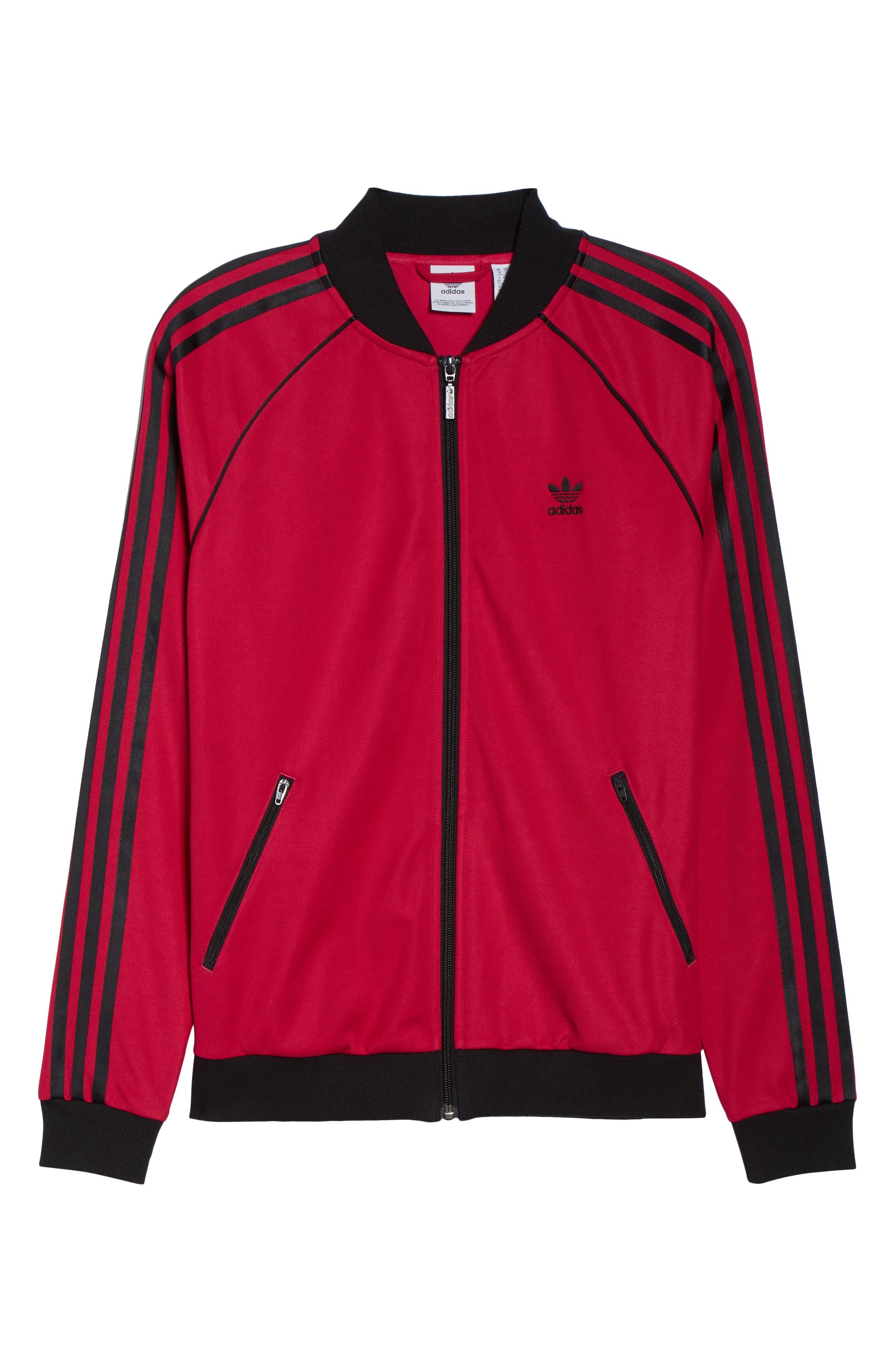 adidas Track Jacket,                             Alternate thumbnail 7, color,                             650