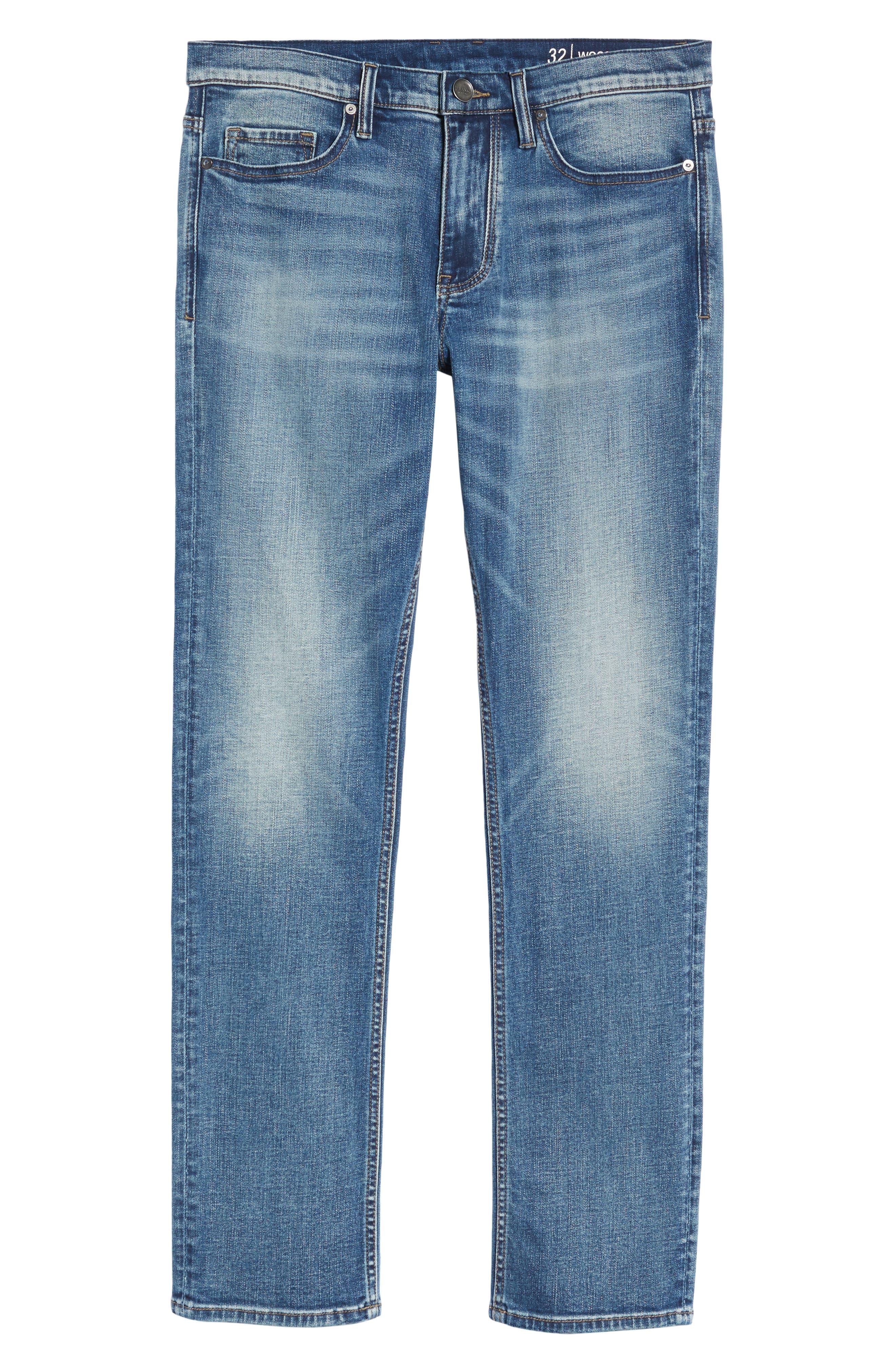 Wooster Slim Fit Jeans,                             Alternate thumbnail 6, color,                             400