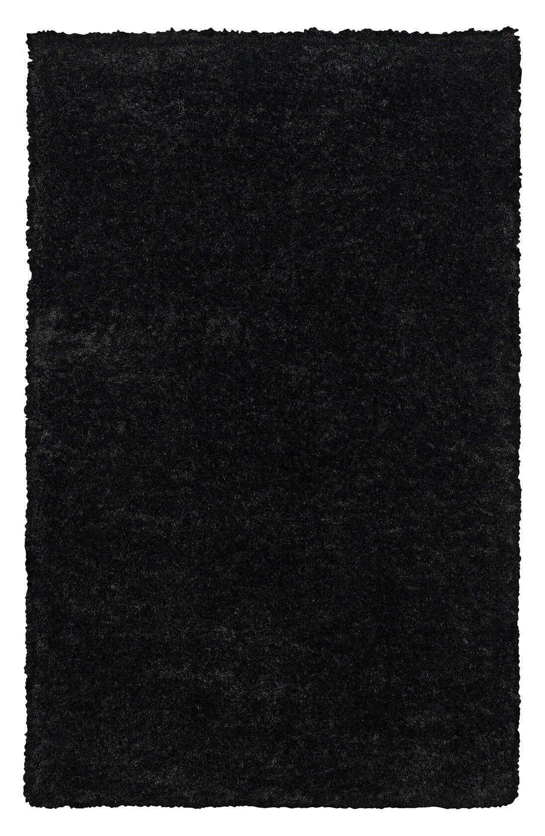 Plush Shag Hand Tufted Area Rug,                             Main thumbnail 1, color,                             001