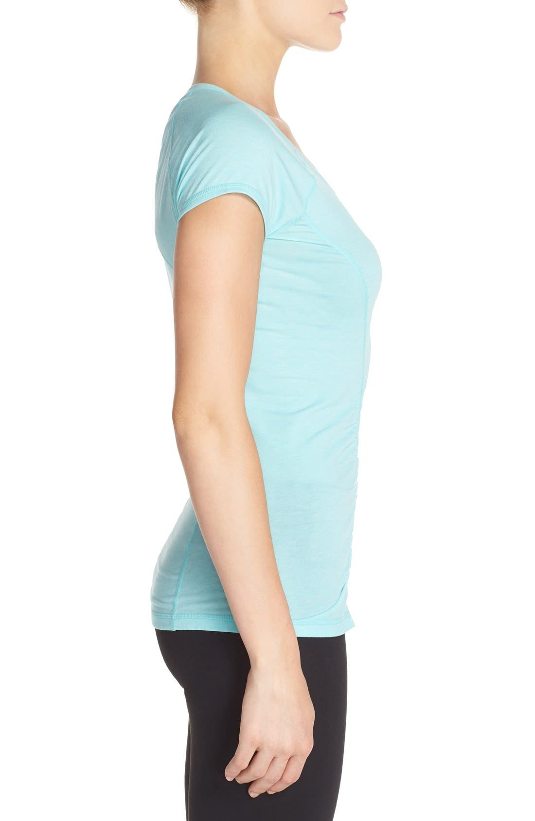 'Z 6' Ruched Tee,                             Alternate thumbnail 51, color,