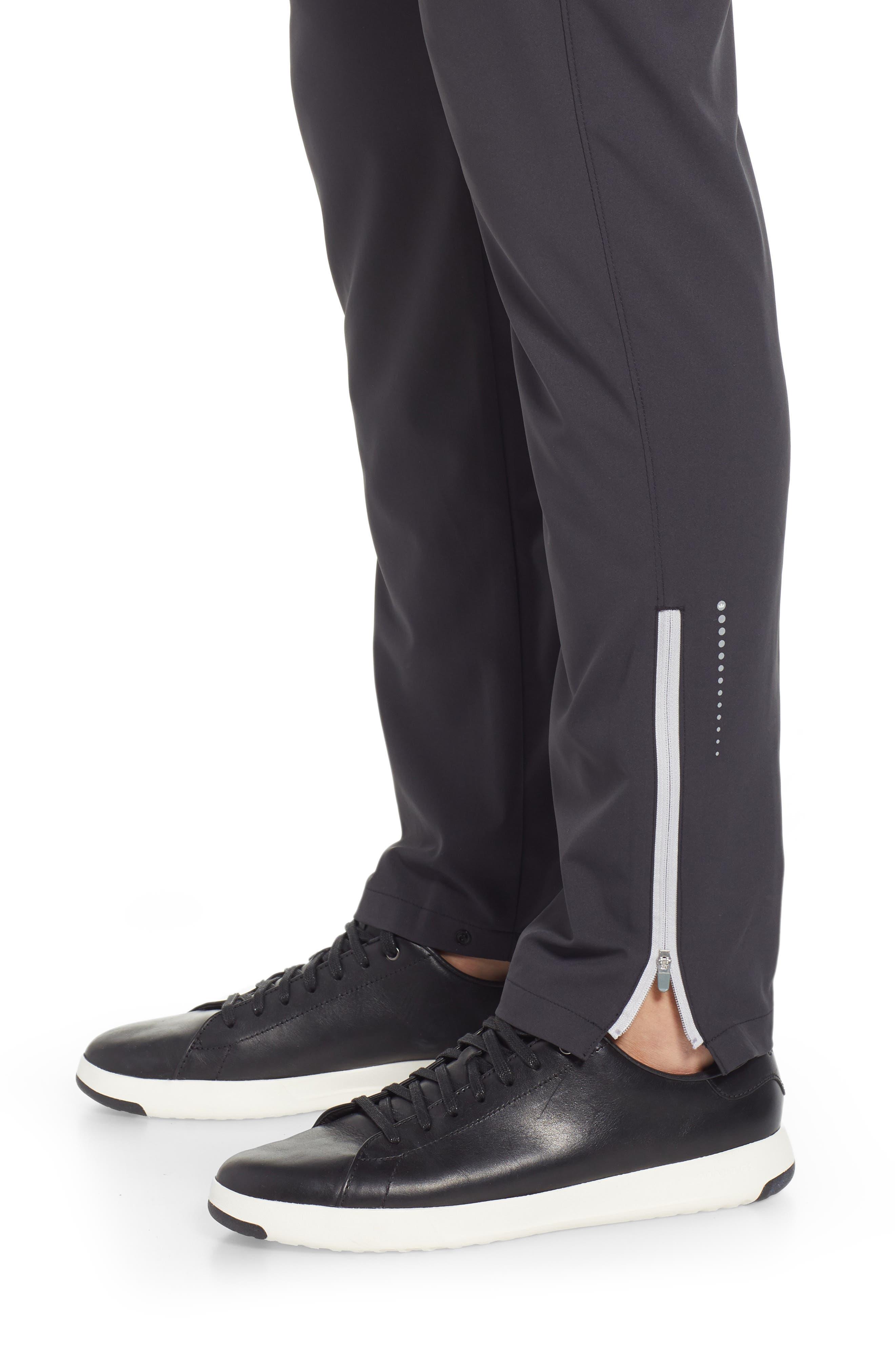 Vancouver Workout Pants,                             Alternate thumbnail 4, color,                             BLACK