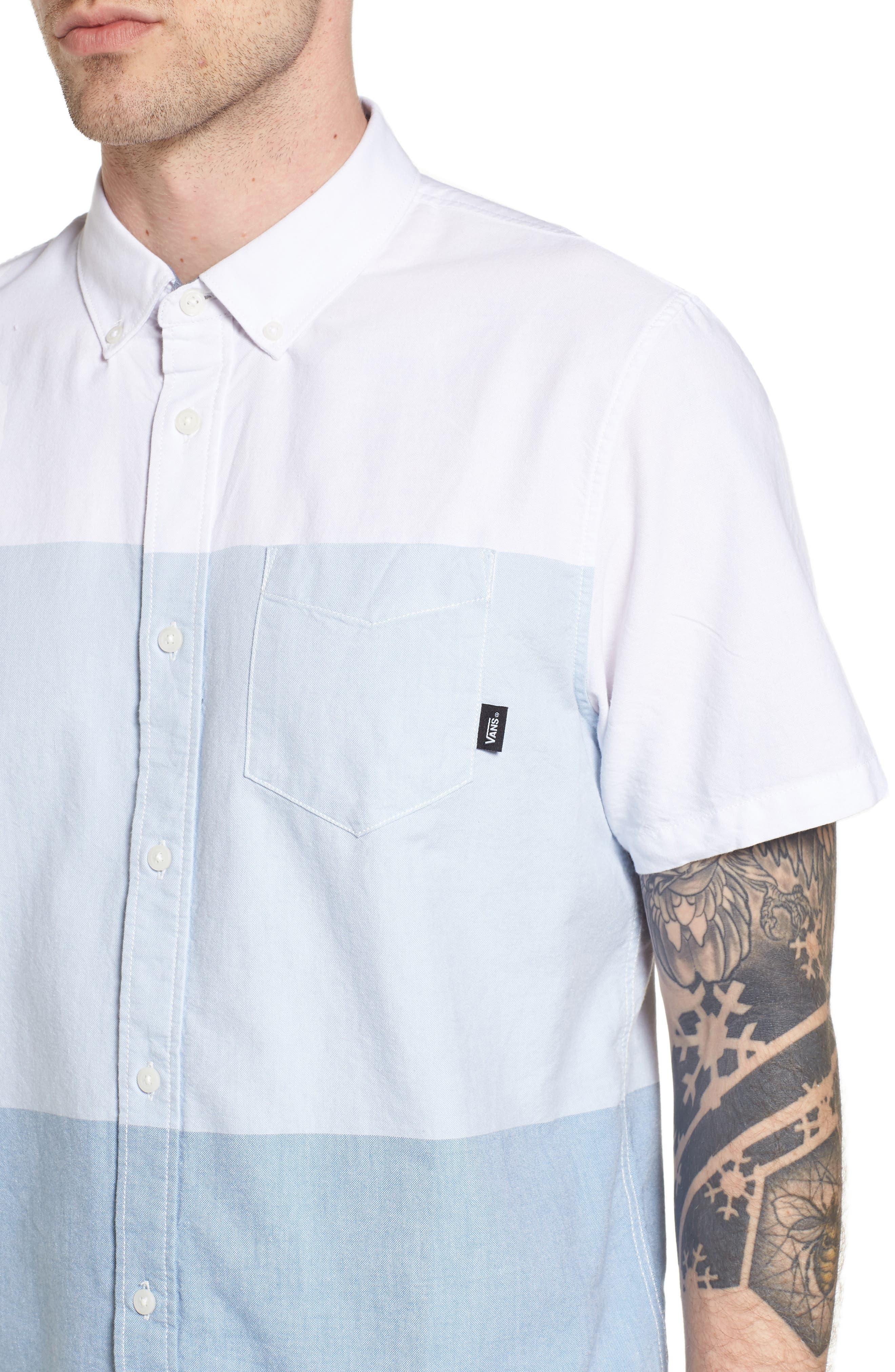 Houser Woven Shirt,                             Alternate thumbnail 4, color,                             100