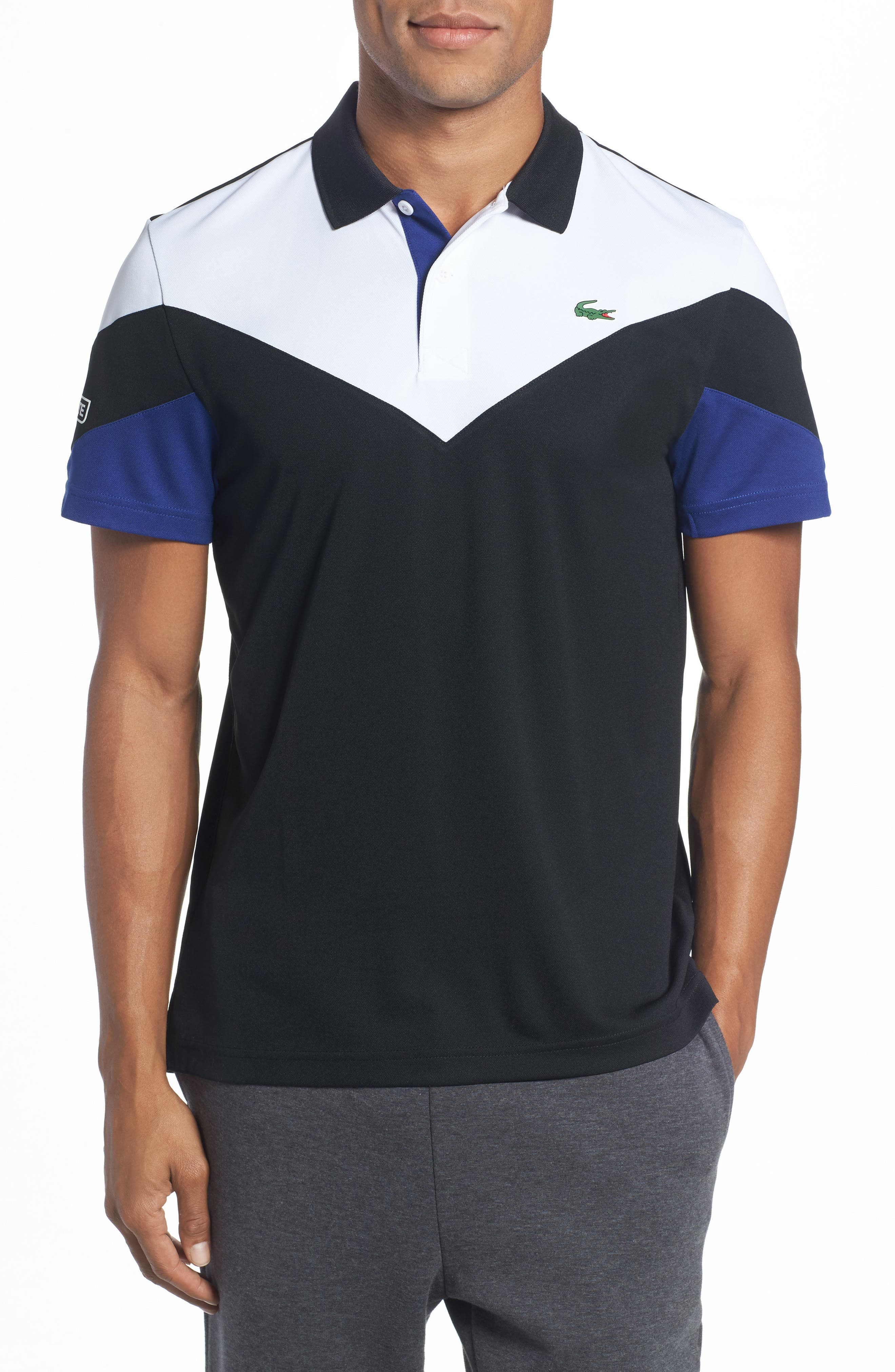 Ultra Dry Chevron Polo,                         Main,                         color, 006