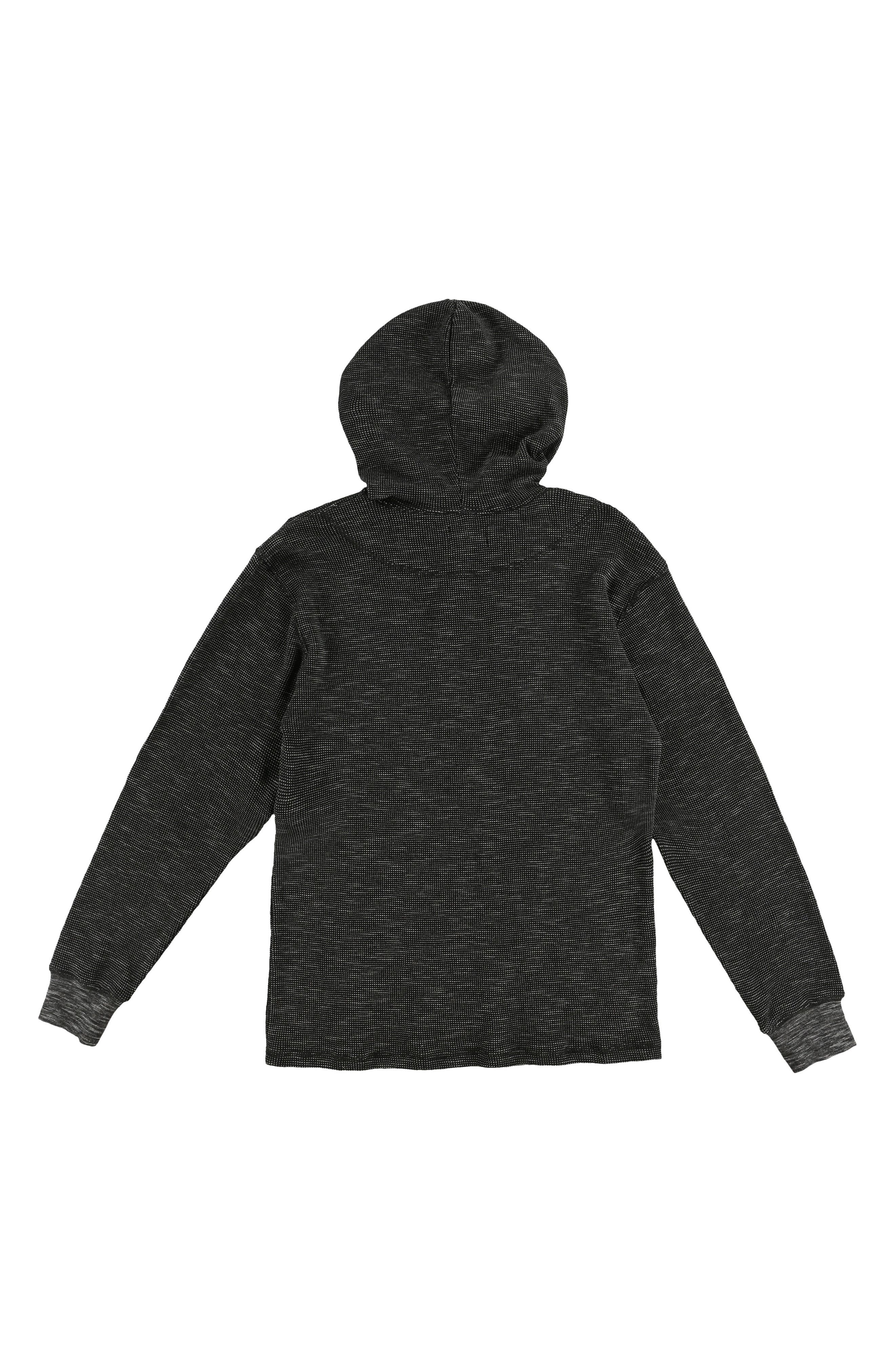 Jasper Thermal Pullover,                             Alternate thumbnail 2, color,                             BLACK