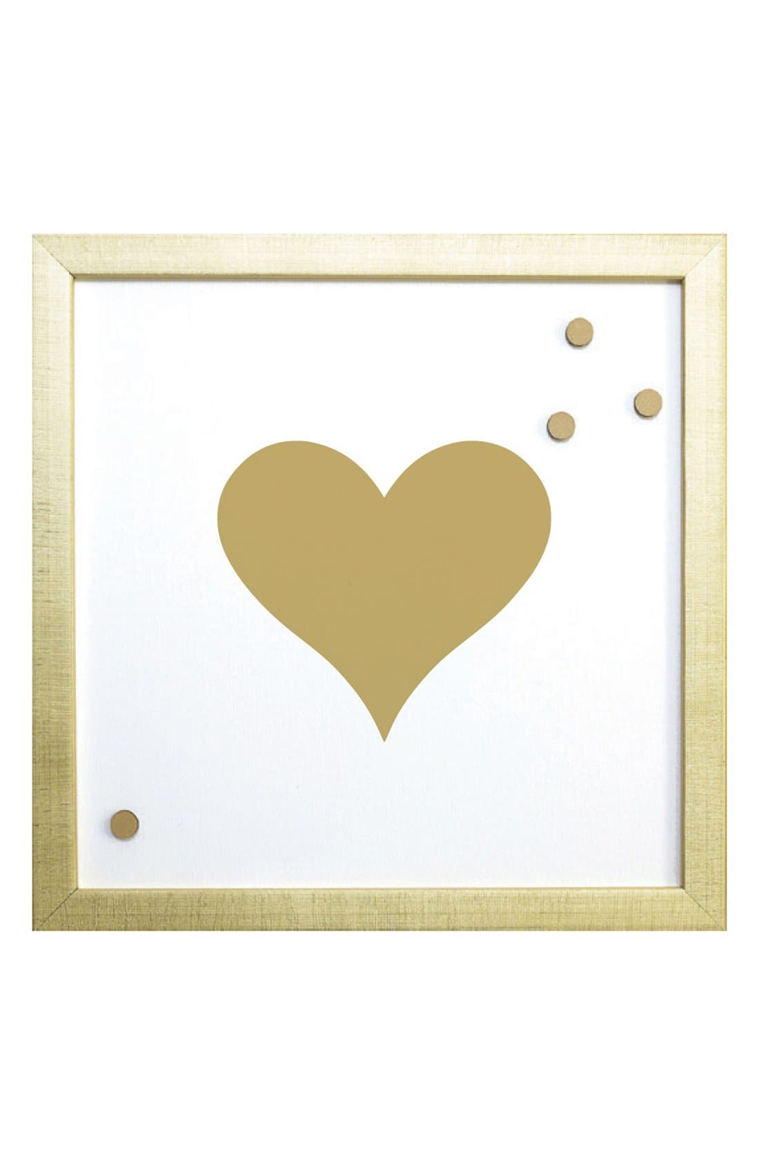 'Heart' Magnet Board,                             Main thumbnail 1, color,                             710